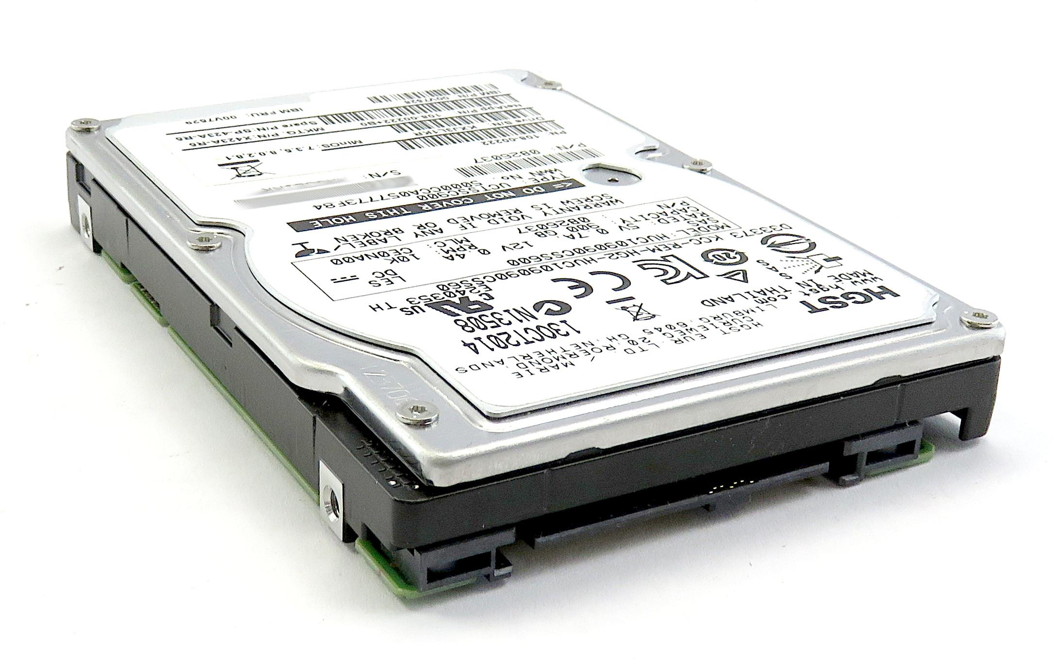 """Hitachi HUC109090CSS600 900GB 2.5"""" 6Gbps 10K RPM SAS HDD 0B26037"""