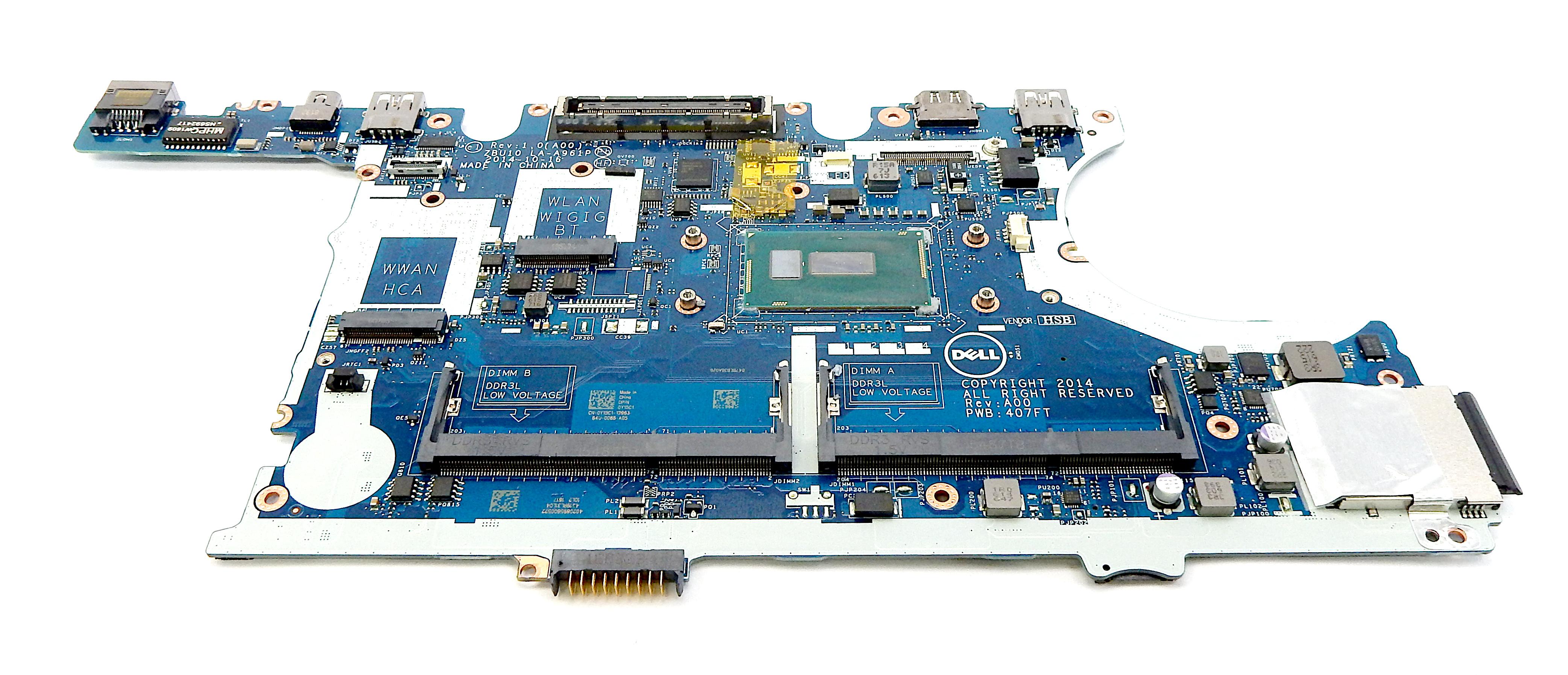 Dell Y15C1 Latitude E7450 with i7-5600U Laptop Motherboard