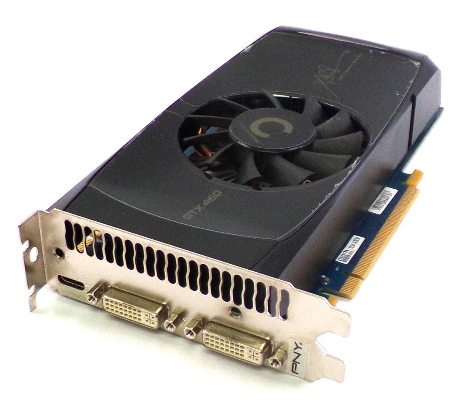 PNY KMGX460N2H1GZPB GeForce GTX 460 PCI-E 1GB GDDR5 OC Graphics Card