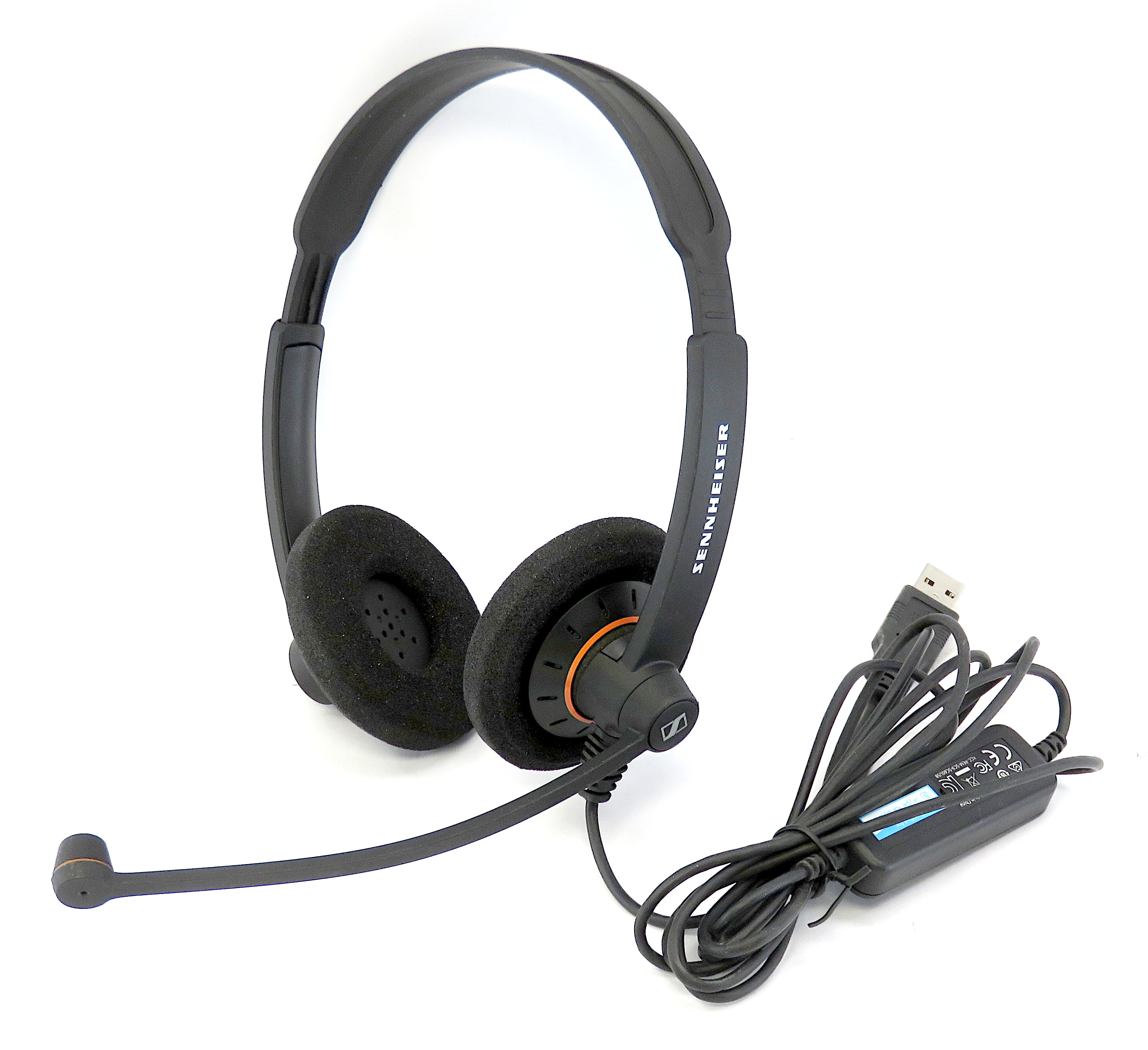 Sennheiser SC 60 USB ML Binaural On-Ear VOIP Headset