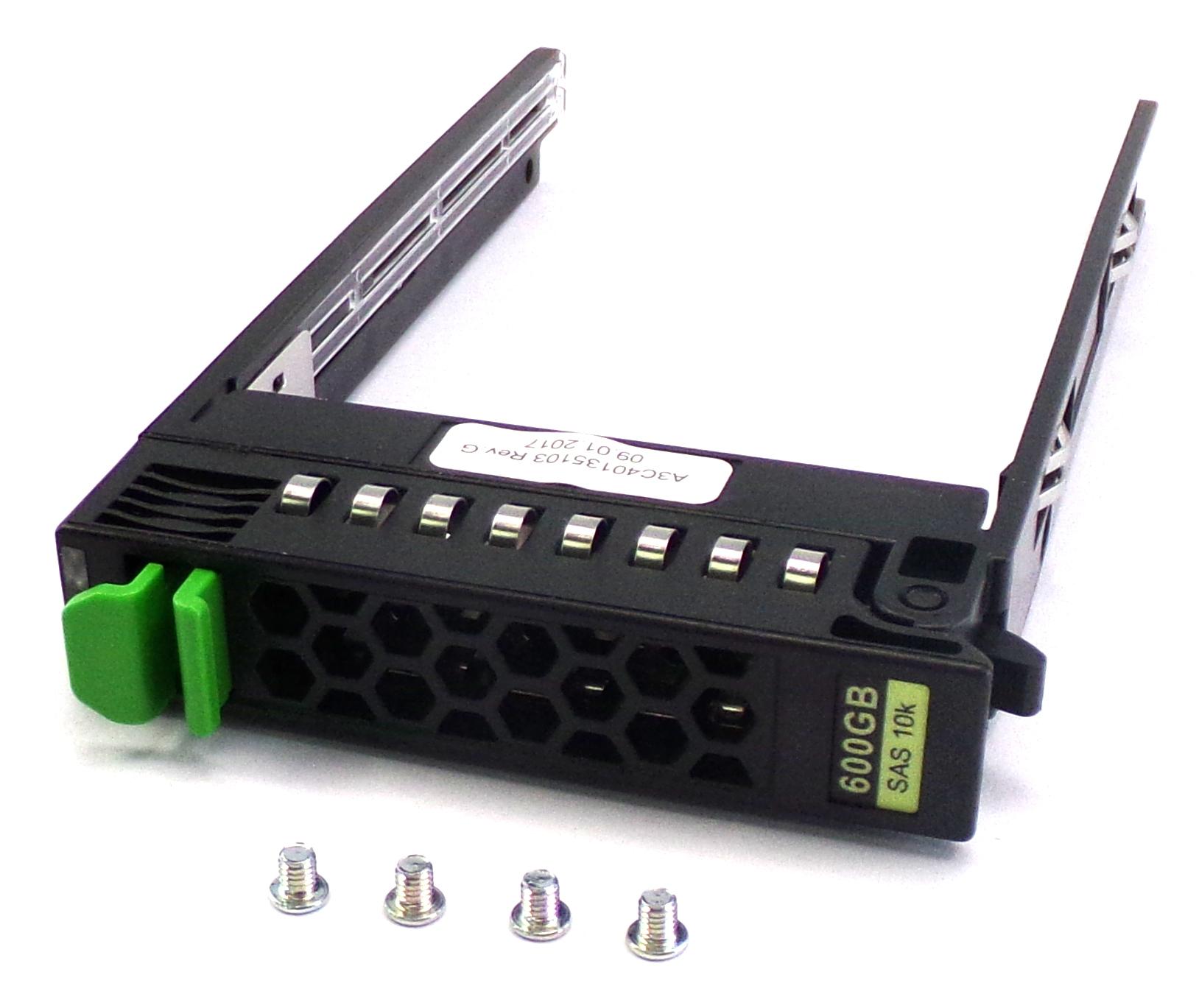 """Fujitsu A3C40135103 Primergy RX200 RX300 RX350 TX2540 2.5"""" SFF HotSwap HDD Caddy"""
