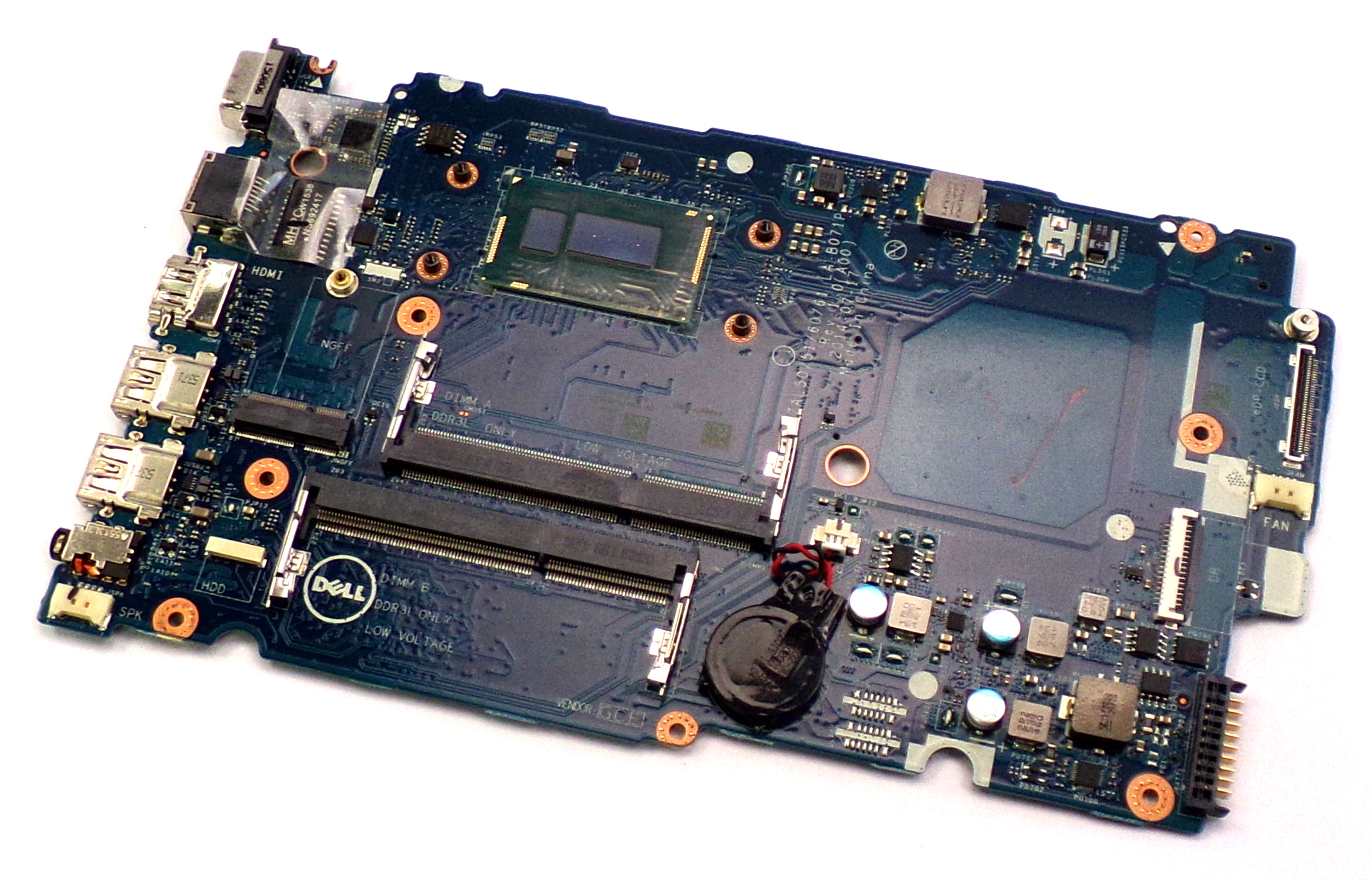 Dell 19XXT Latitude 3450 with i3-4005U 1.70 GHz Laptop Motherboard
