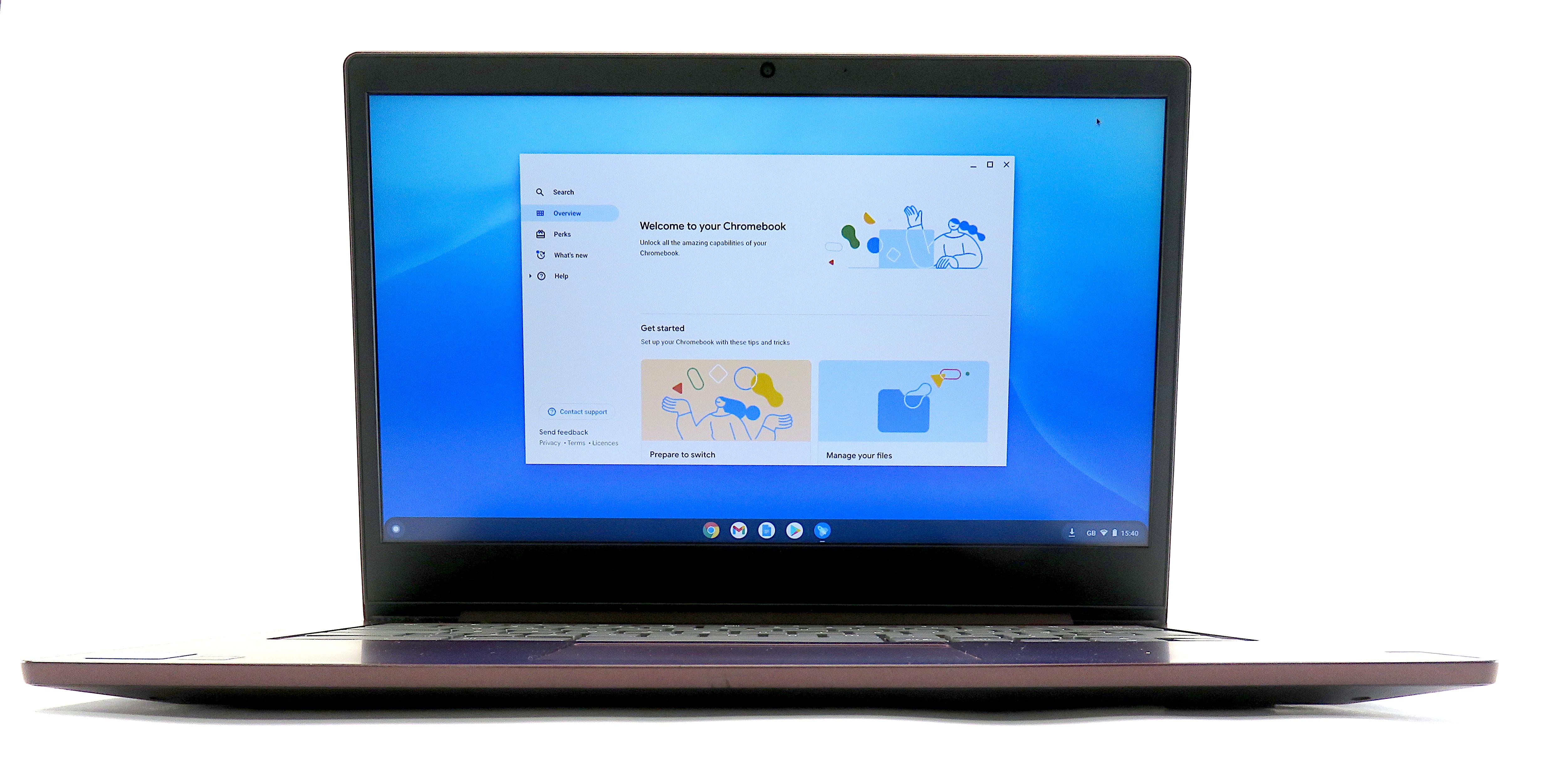 "Lenovo Chromebook S340-14 - Intel Celeron N4000, 4GB Memory, 64GB eMMC, 14"""