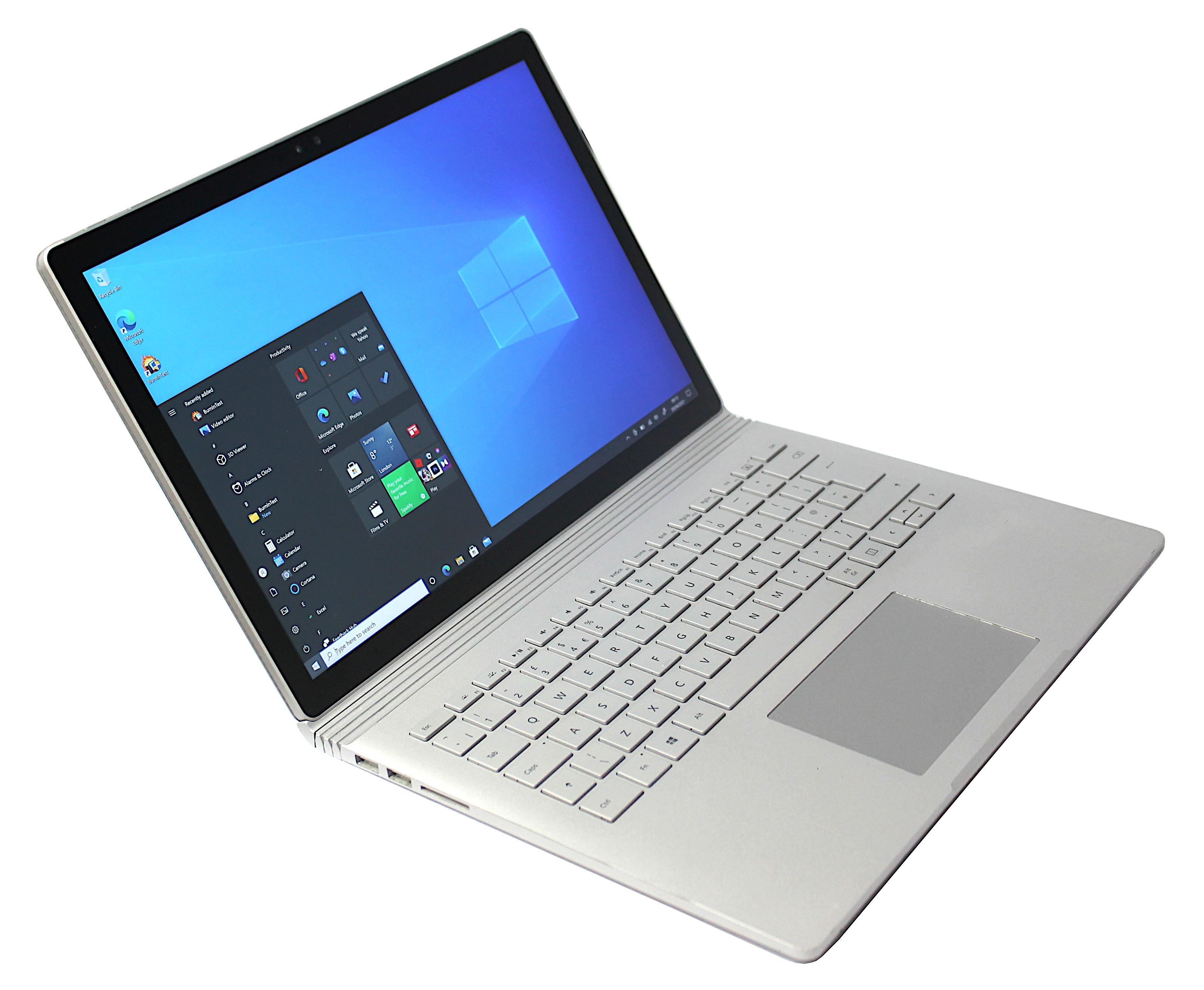 Microsoft Surface Book -1703 & 1705 i5-6300U 8GB RAM 256GB SSD Windows 10 Pro