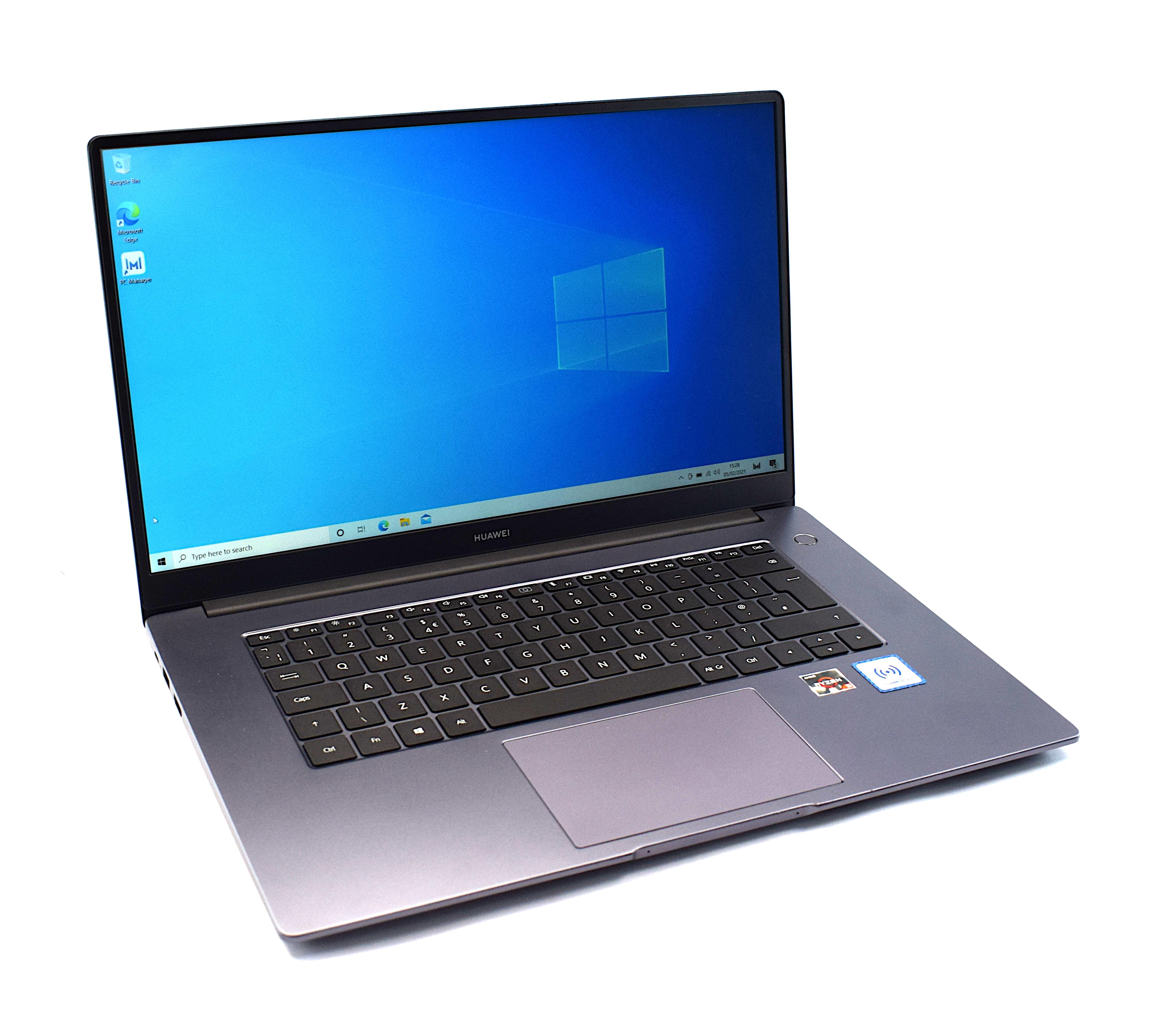 "Huawei MateBook D 15 AMD Ryzen 5 8GB RAM 256GB SSD 15.6"" Display Windows 10 Home"
