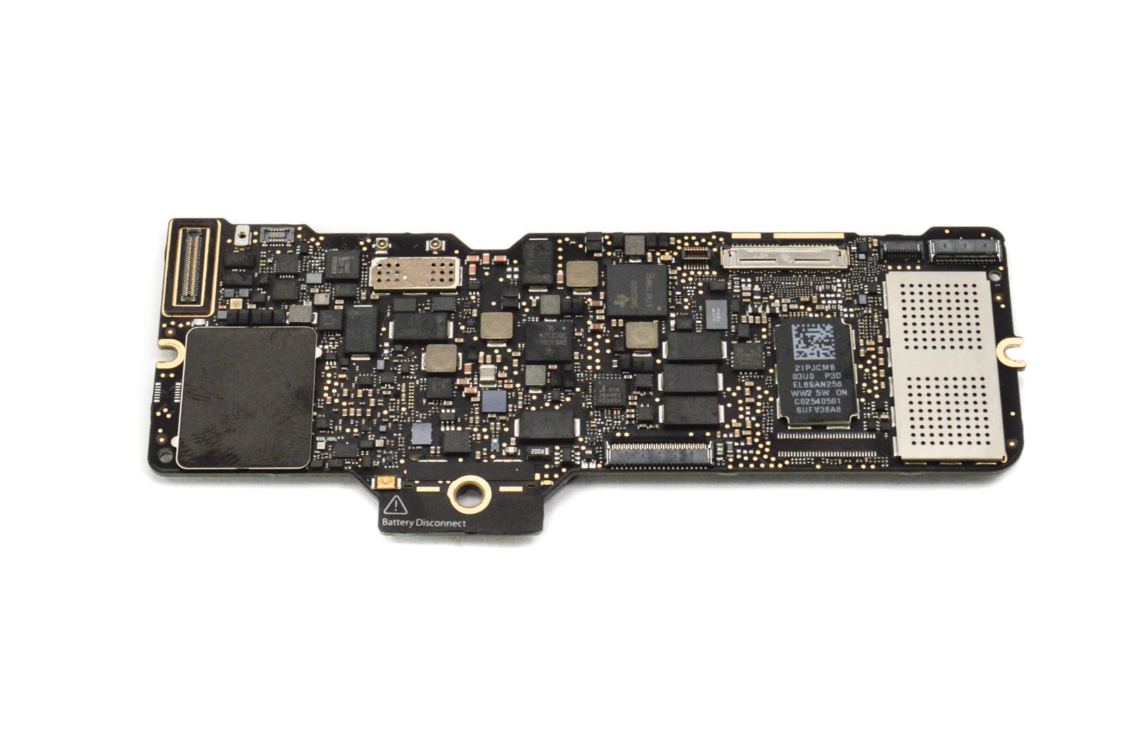 """Apple Macbook 12"""" A1534 Early 2015 1.1GHz Core-M 8GB RAM 256GB SSD Logic Board"""