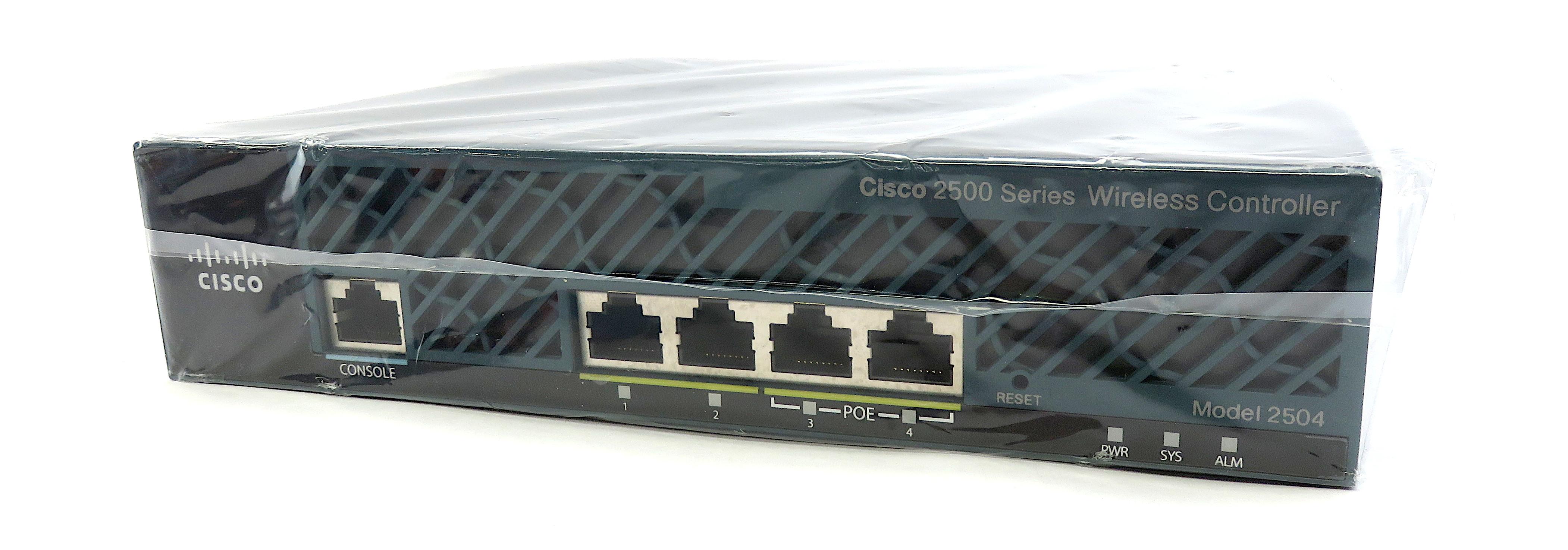 Cisco 2504 Wireless Controller AIR-CT2504-K9 + 50 AP Licenses: AIR-CT2504-50-K9