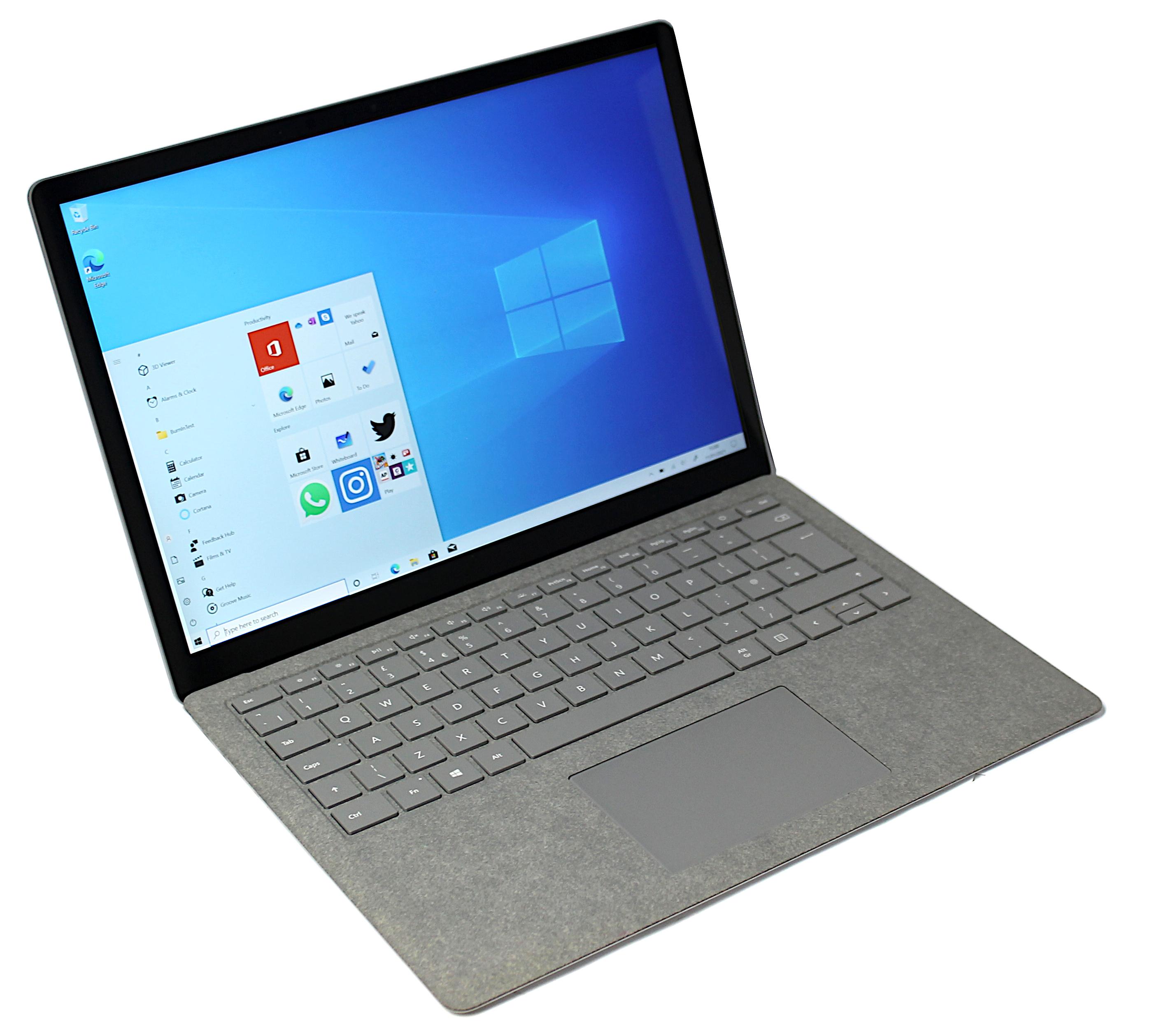 Microsoft Surface Laptop 2 - M1769 i5-8250U 8GB RAM 128GB eMMC Grey Win 10 Home