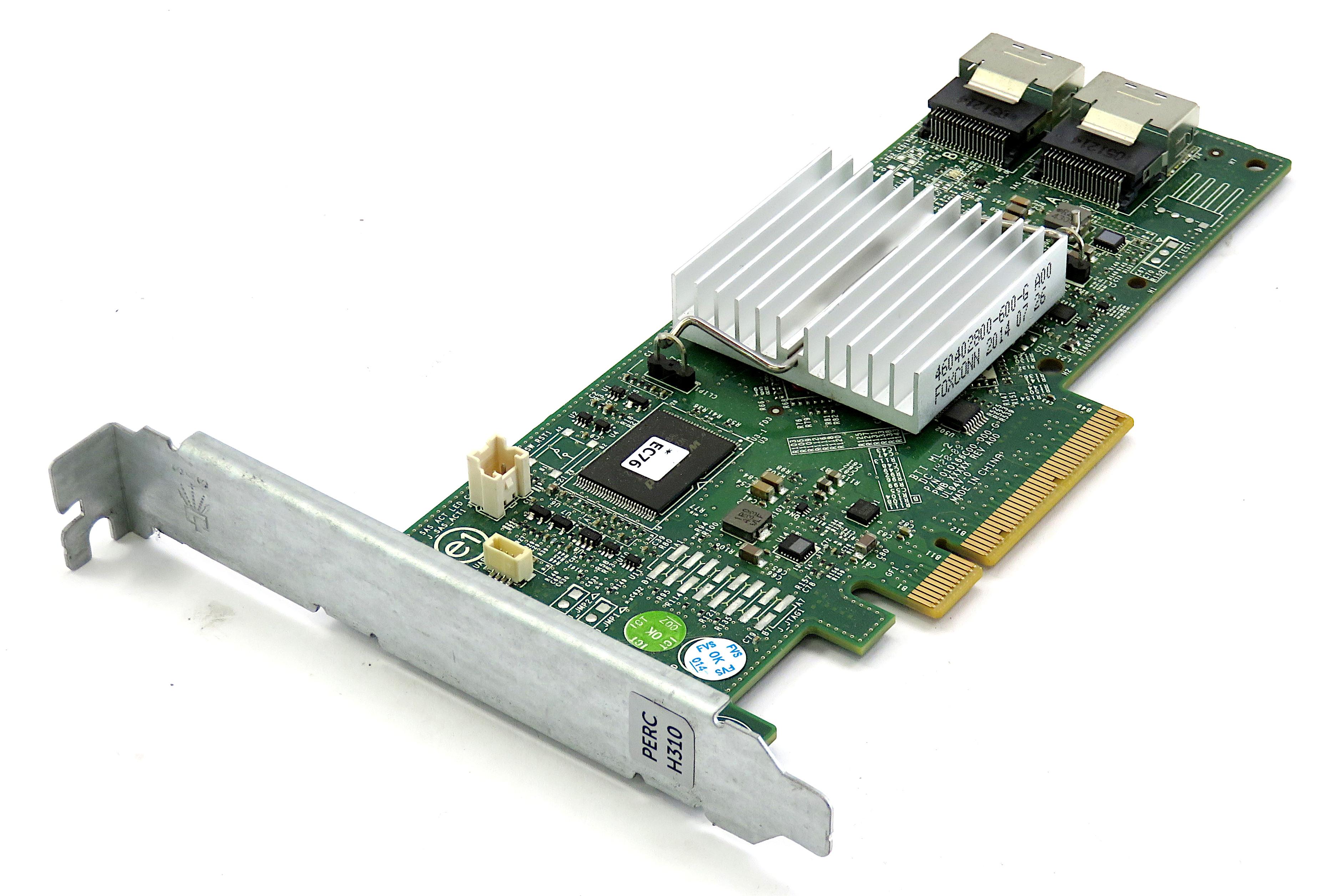Dell 3P0R3 PowerEdge Raid Controller H310 6Gbps SAS/SATA 8-Port PCIe HBA Card