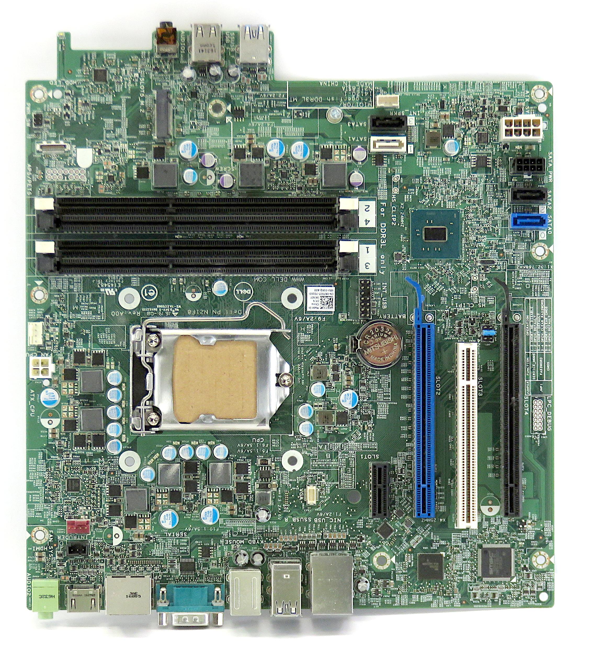 Dell 0R790T Intel 6th Gen. Socket LGA1151 DDR3 Motherboard f/ OptiPlex 5040
