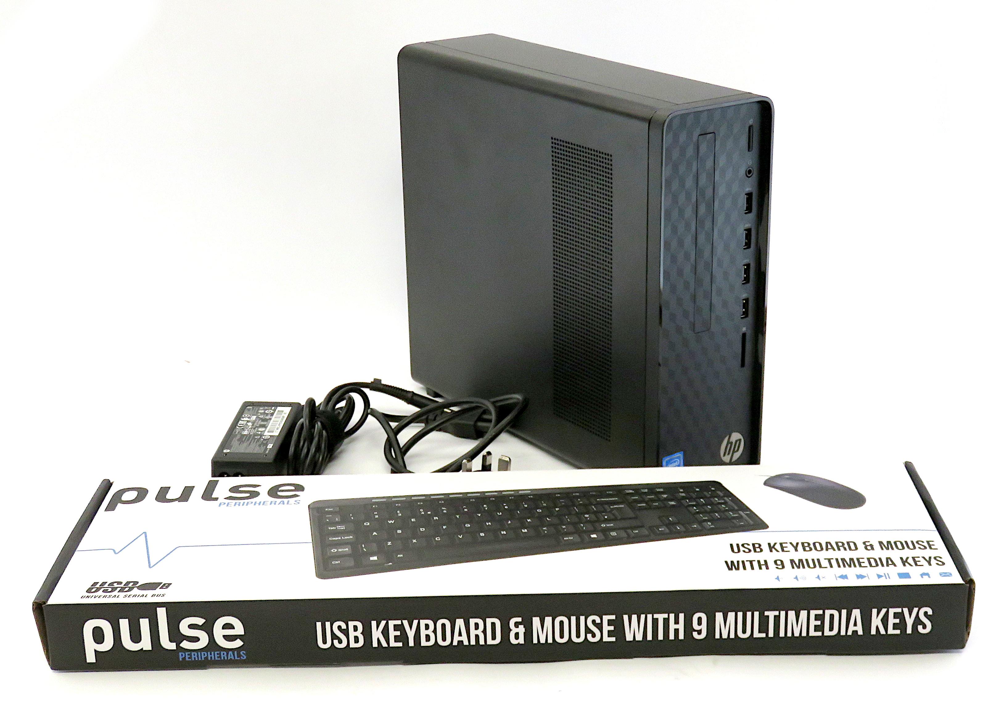 HP Desktop PC S01-af1005na: Celeron J4025 8GB RAM 128GB SSD 1TB HDD Win 10 Home