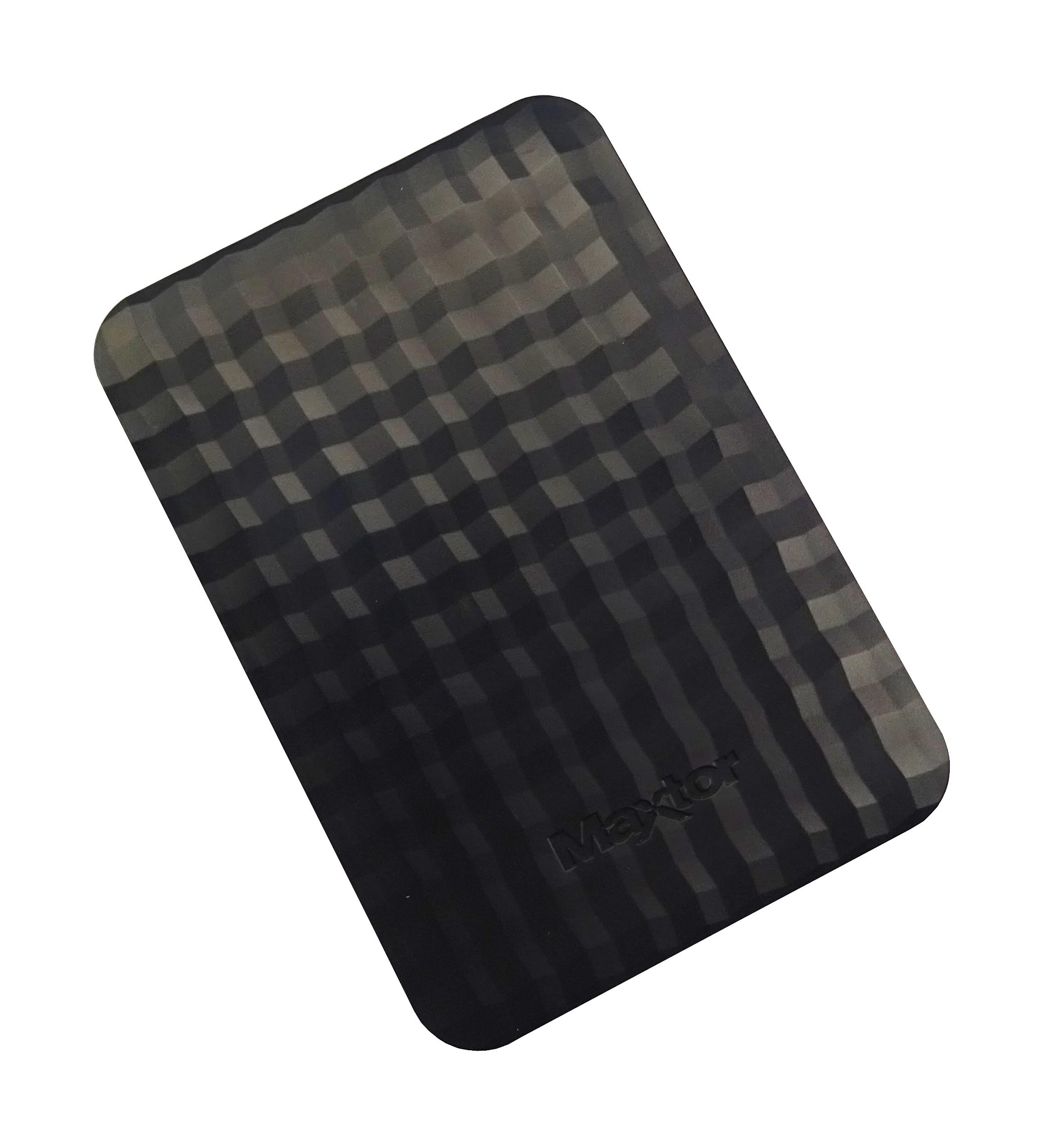 Maxtor M3 Portable External Hard Drive 2TB Black Used