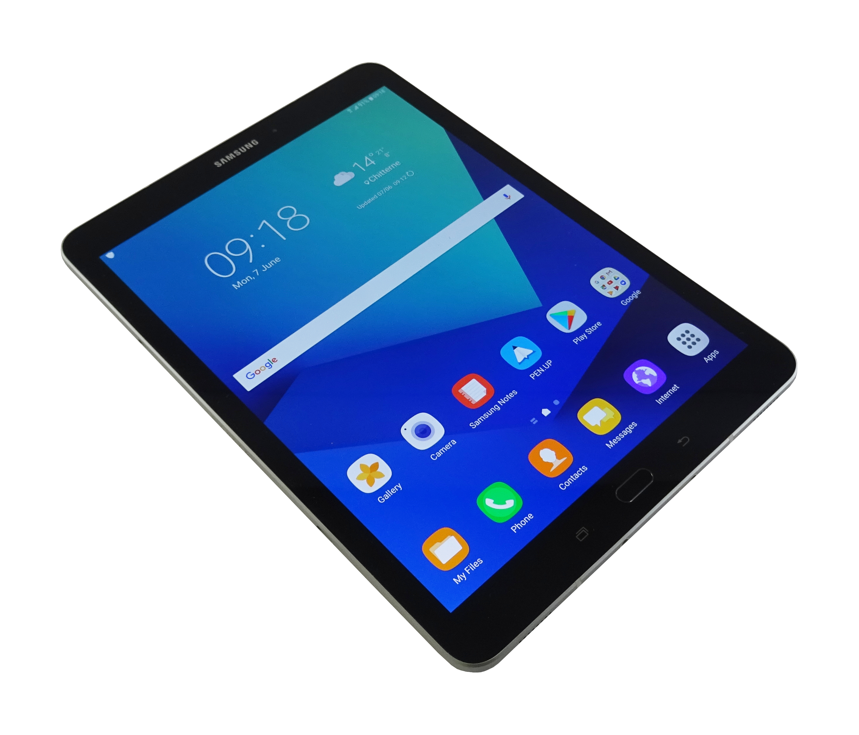 "Samsung Galaxy Tab S3 9.7"" SM-T825 32GB WiFi+4G Unlocked Black Used"
