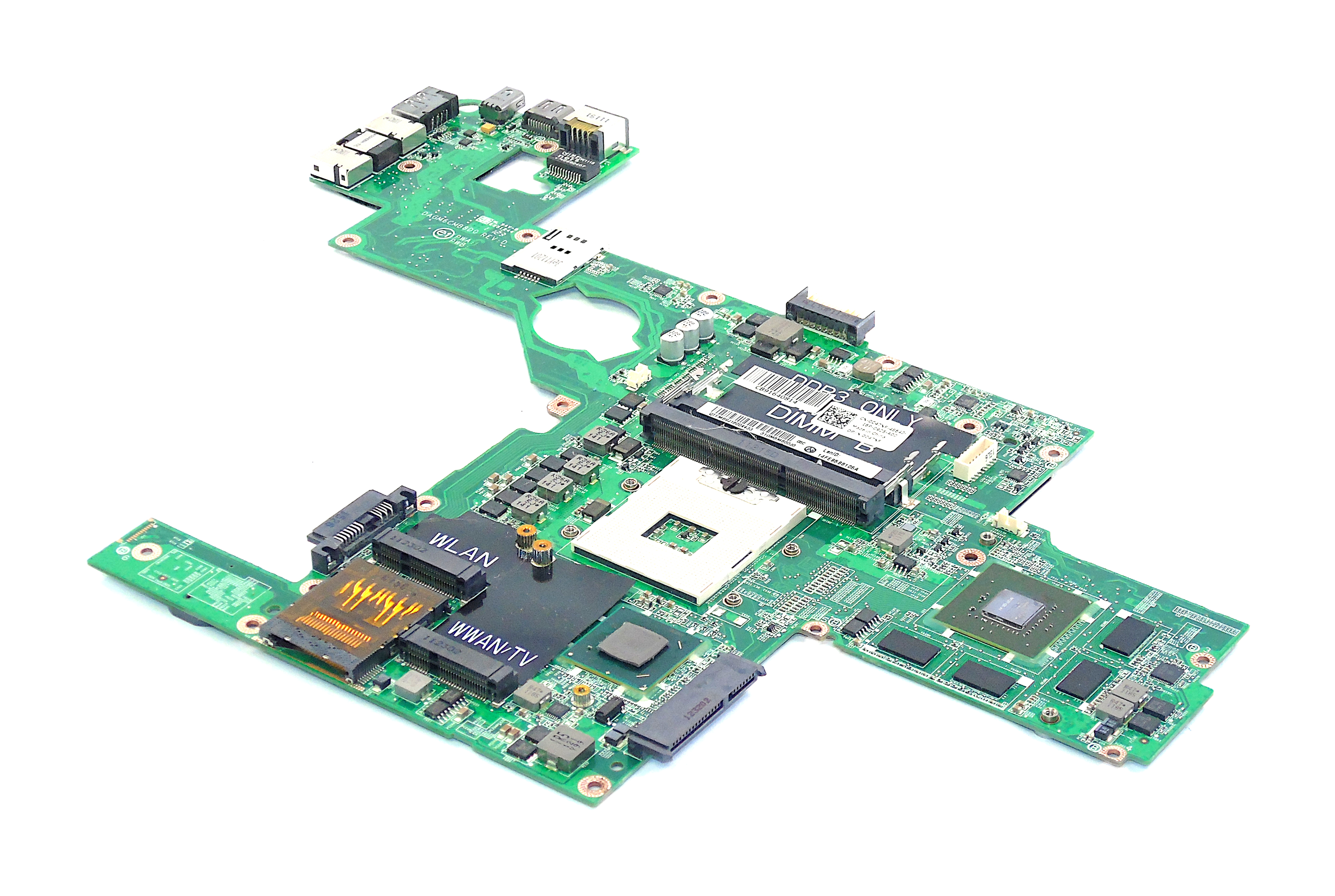 Dell XPS L502X Laptop Motherboard 0C47NF