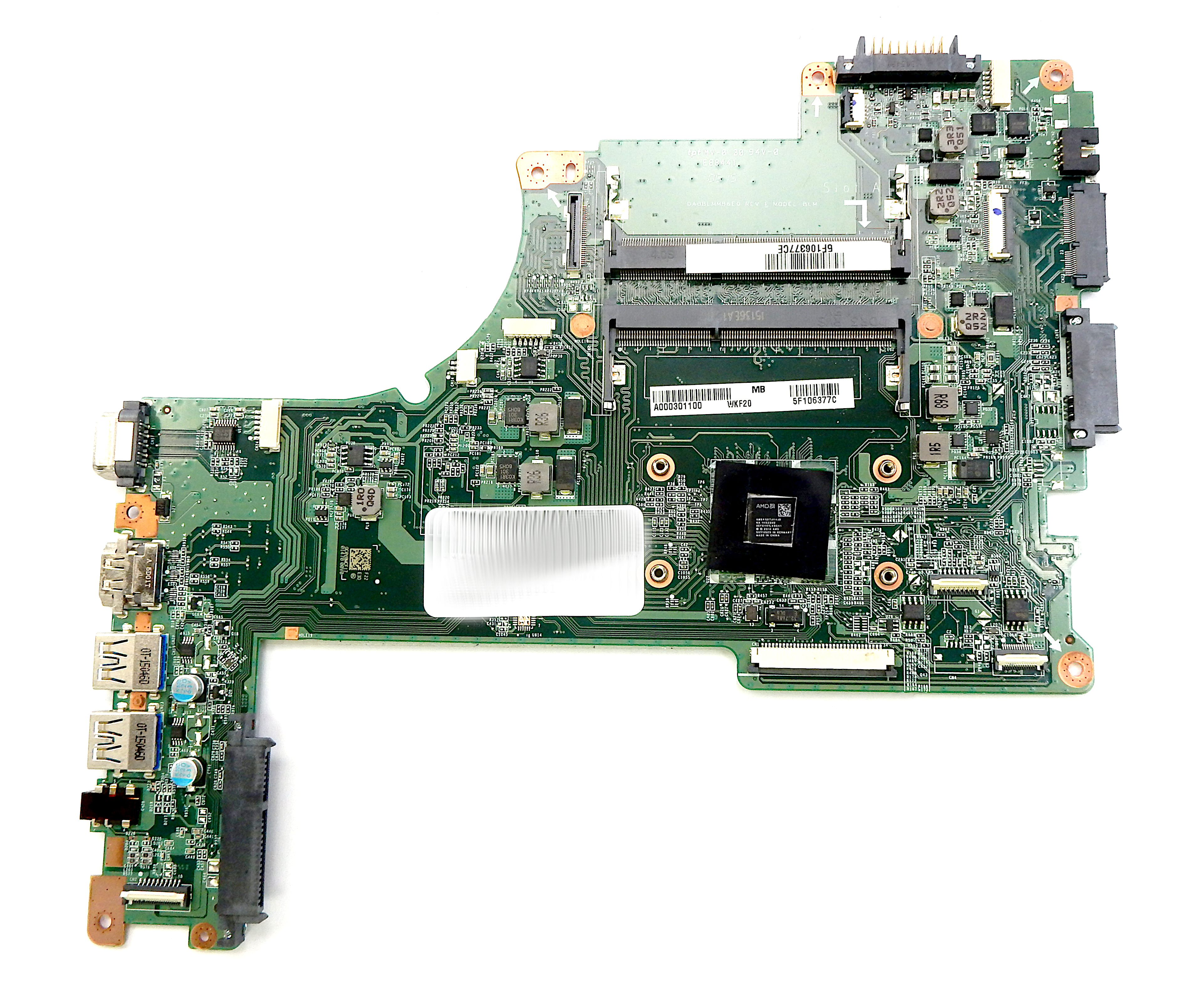 Toshiba Satellite L50D A000301400 Laptop Motherboard with AMD A4-6210 CPU