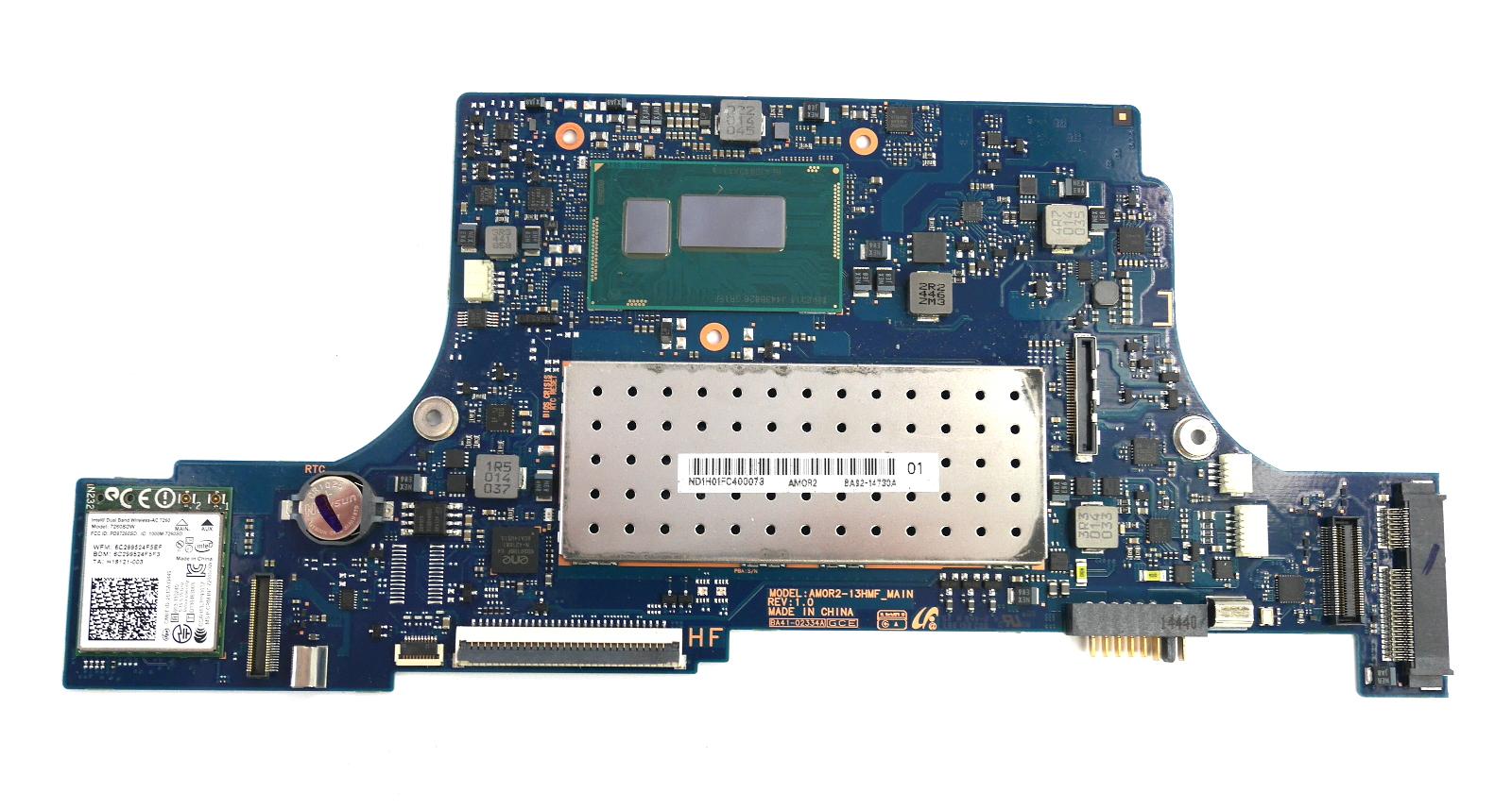 Samsung 900X BA92-14730 Laptop Motherboard with BGA Intel Core i5-4210U CPU