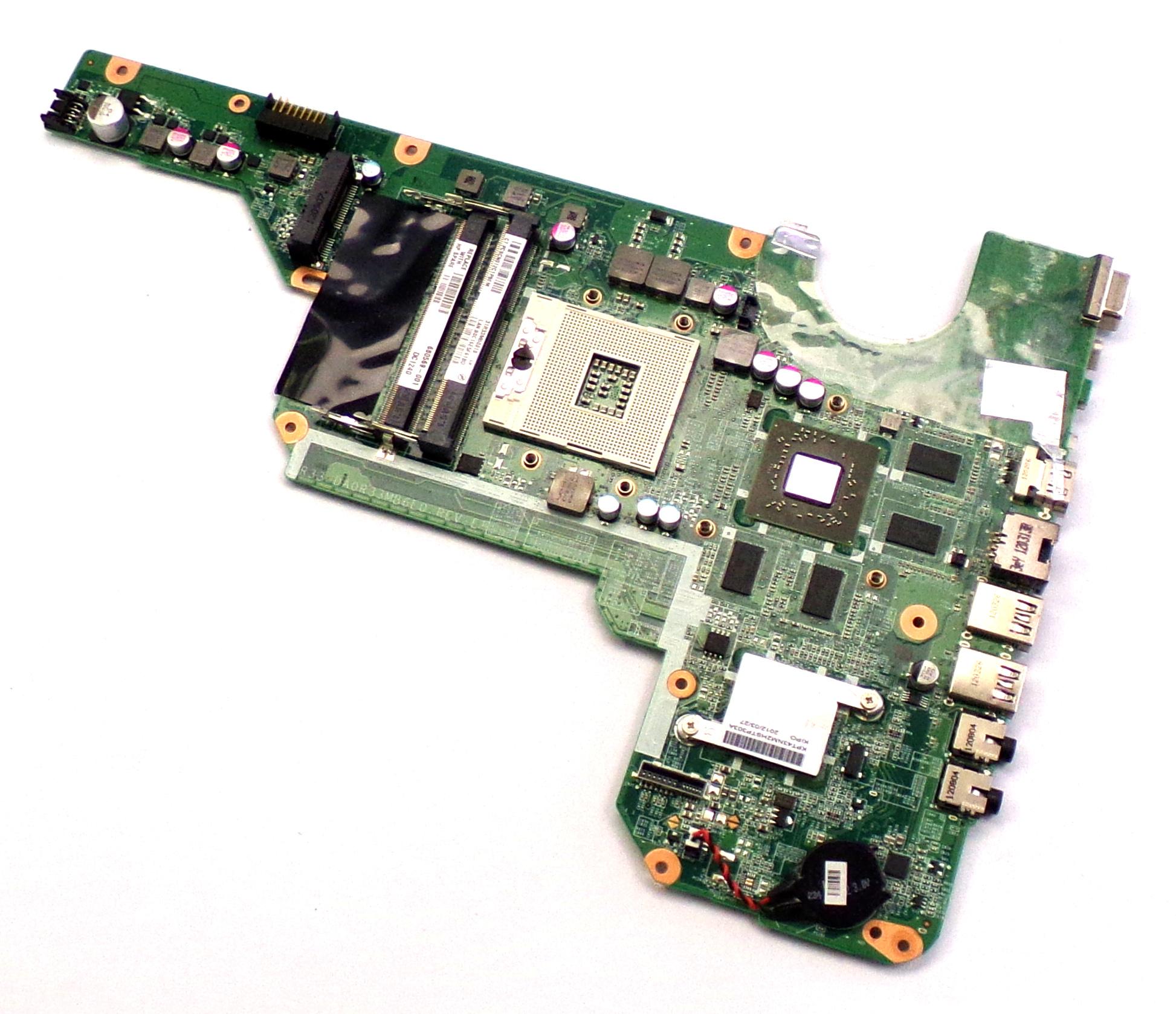 HP 680569-001 Pavilion G6-2030TX Socket rPGA-989 Laptop Intel Motherboard