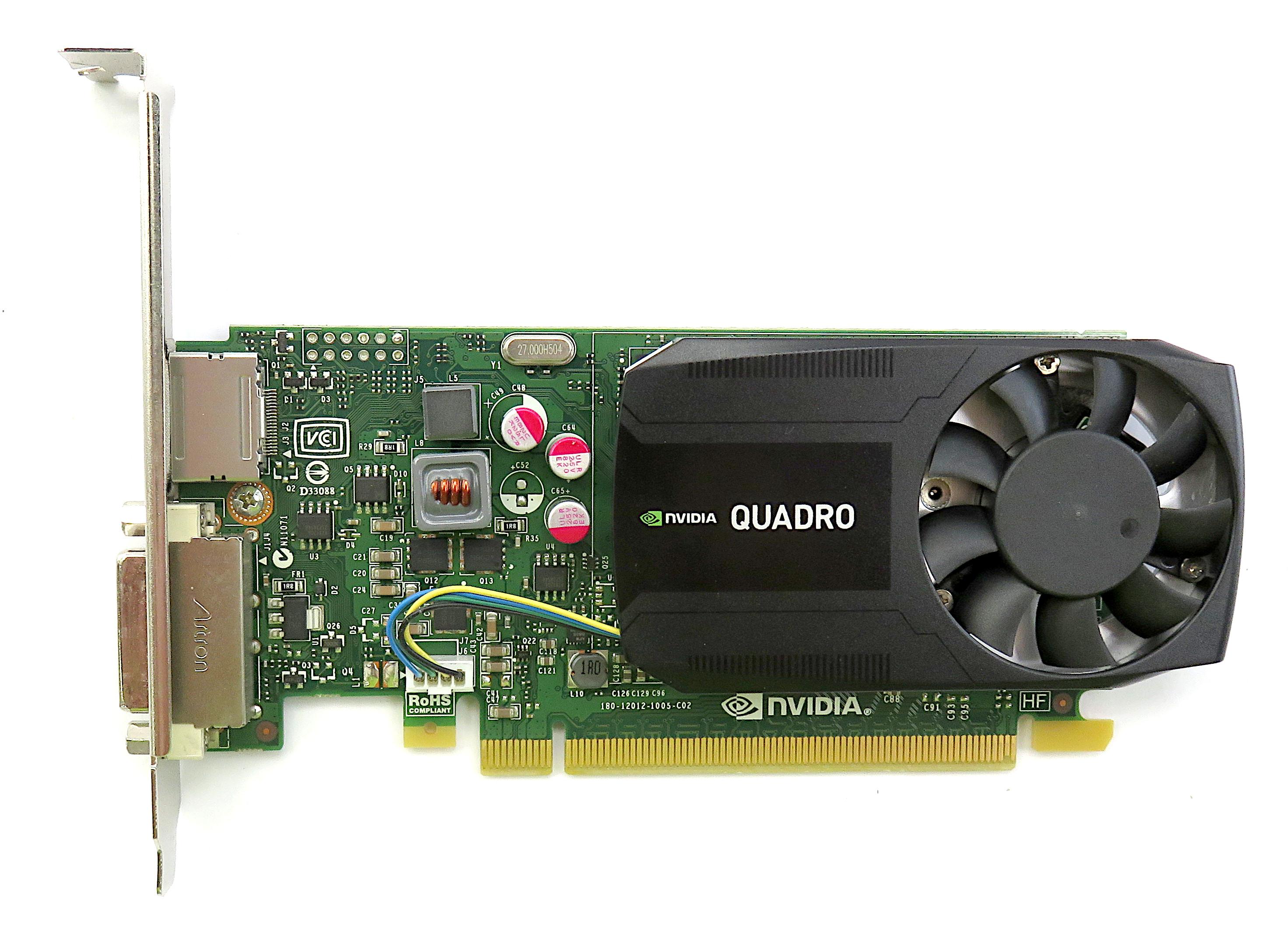 Dell 047KM8 Nvidia Quadro K620 2GB DDR3 Workstation Graphics Card DP/DVI-I