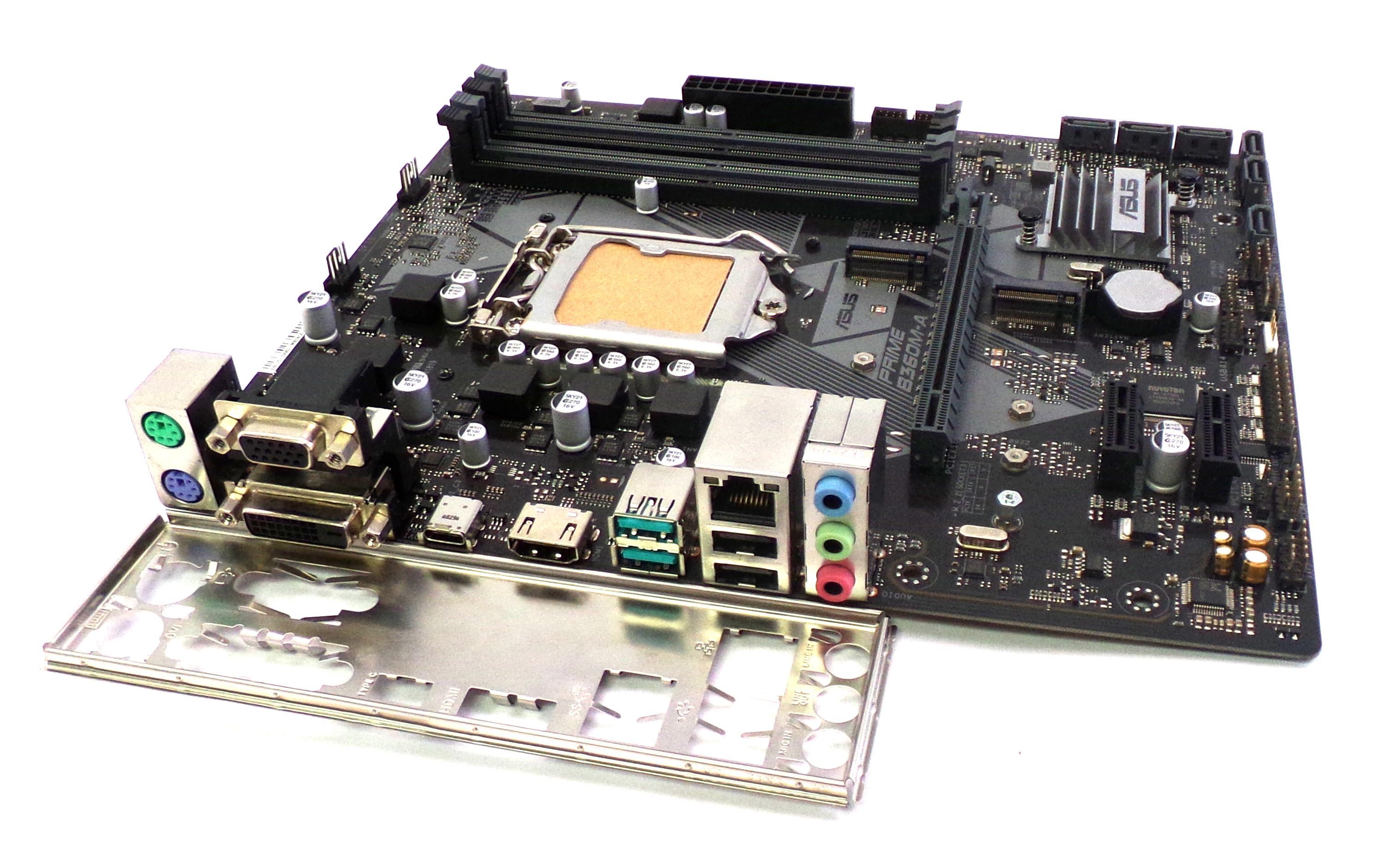 Asus PRIME B360M-A Intel LGA-1151 DDR4 VGA DVI HDMI USB 3.1 Gen2 Motherboard