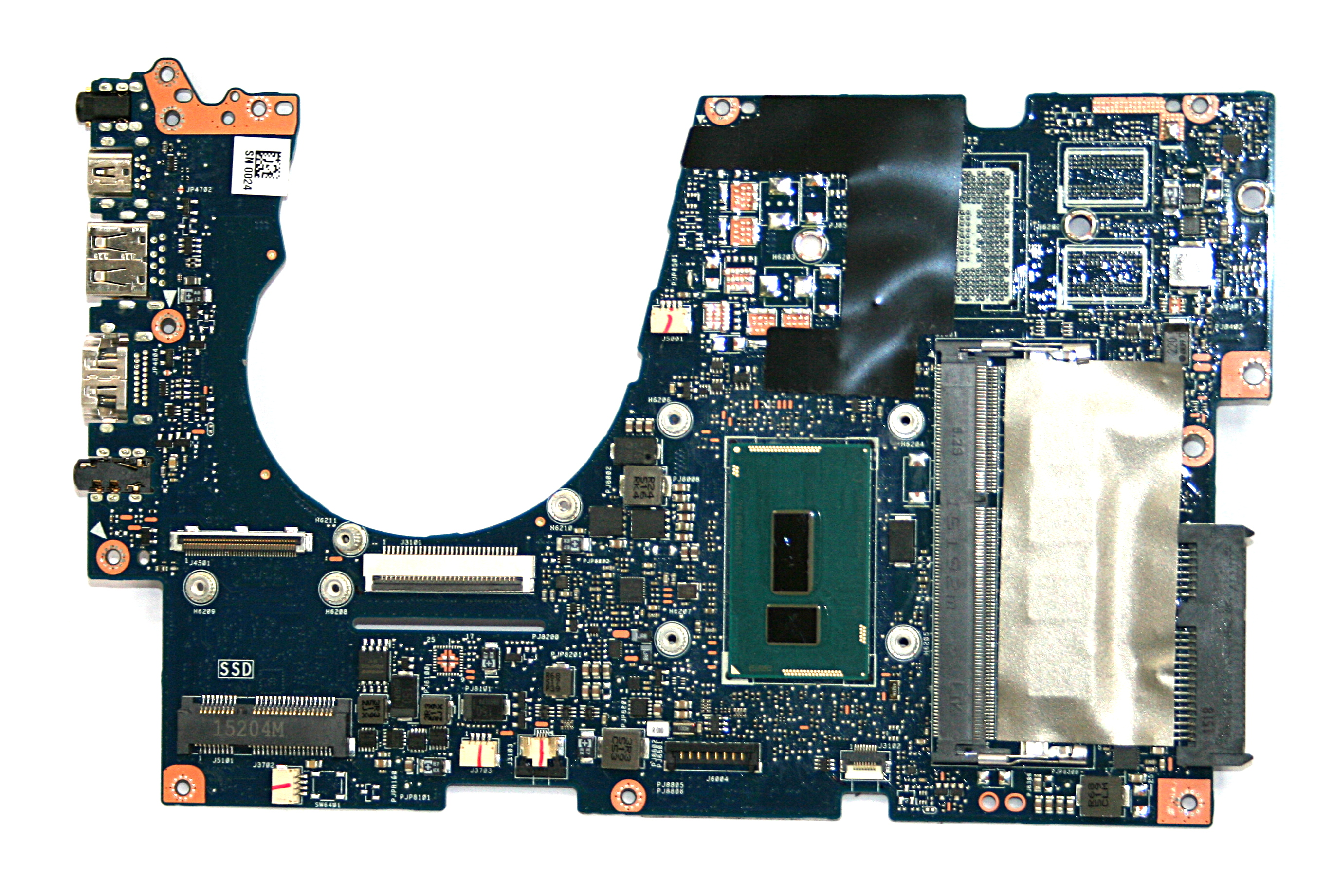 Asus 90NB04Y0-R05000 UX303L Laptop Motherboard With BGA Intel i7-5500U CPU