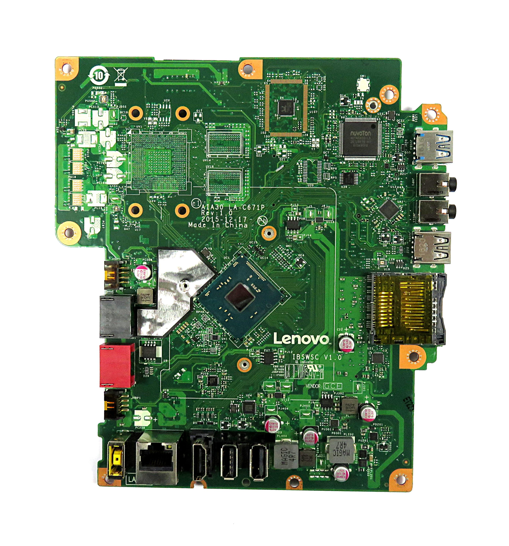 Lenovo 00UW331 IBSWSC V1.0 Motherboard f/ C20-00 AiO PC w/ Celeron J3160 CPU