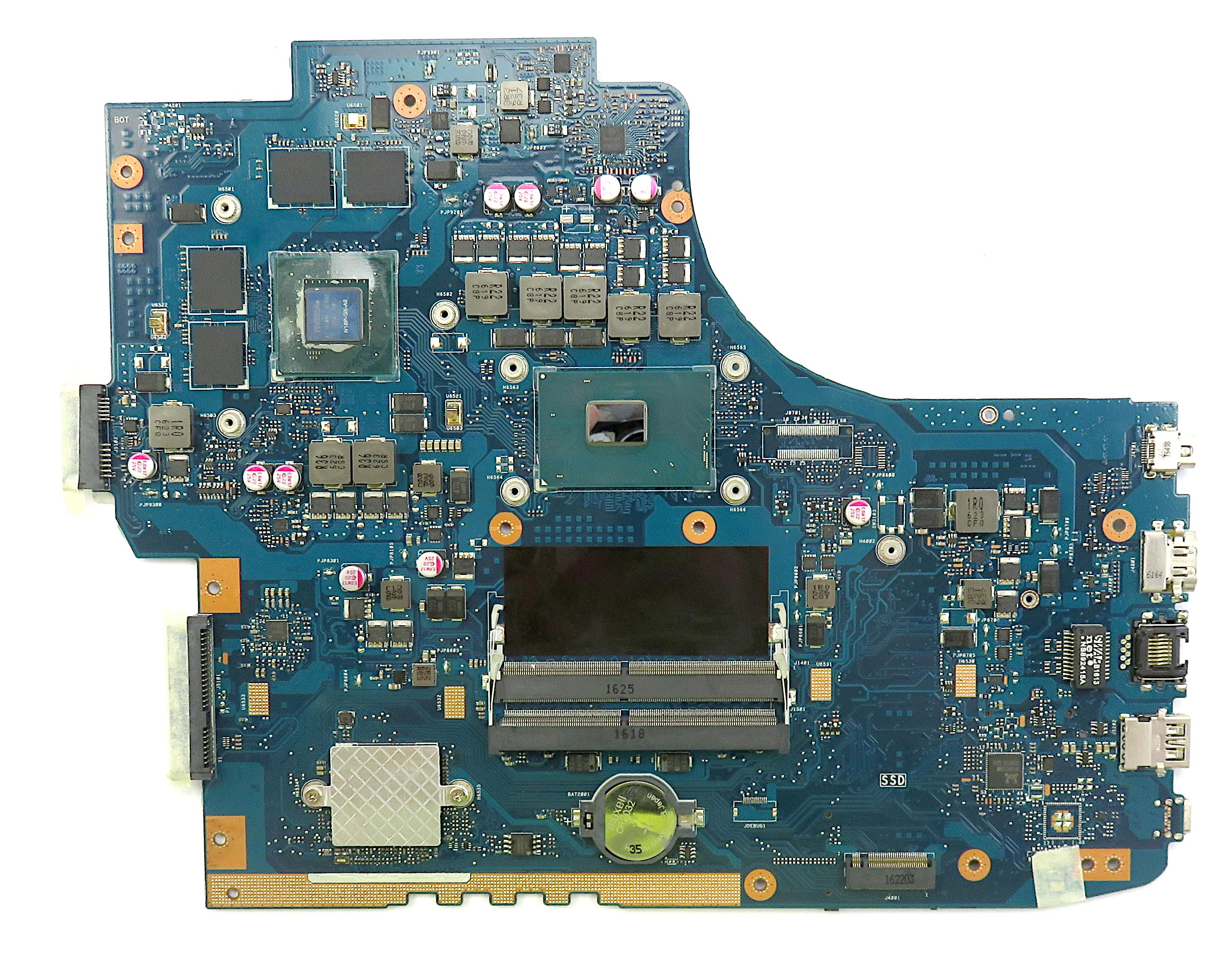 Asus GL752VW Motherboard 60NB0A40-MB1401 w/ i7-6700HQ + Nvidia GTX 960M 2GB