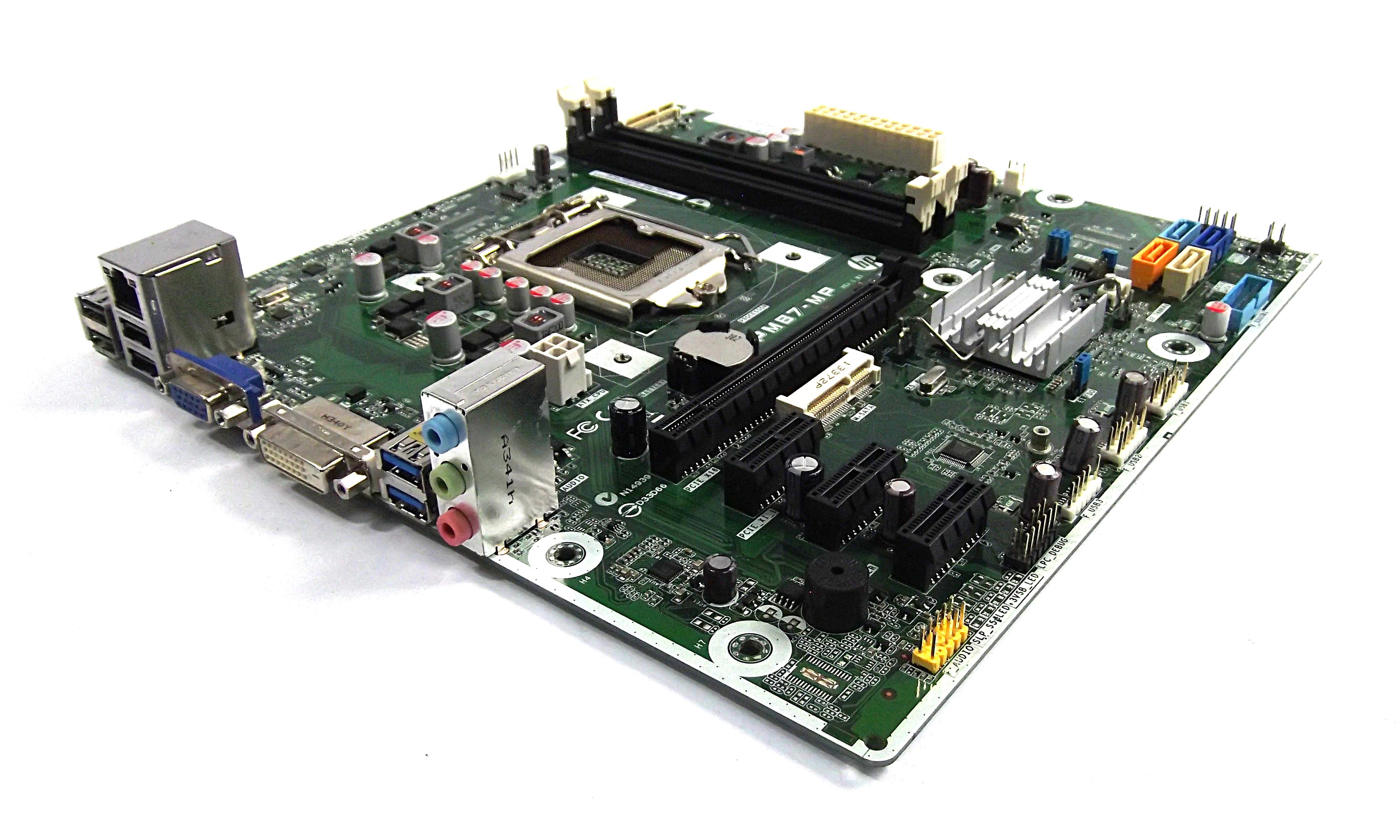 HP 707825-001 Pavilion 500 PC Socket LGA1150 Motherboard - IPM87-MP REV:1.04