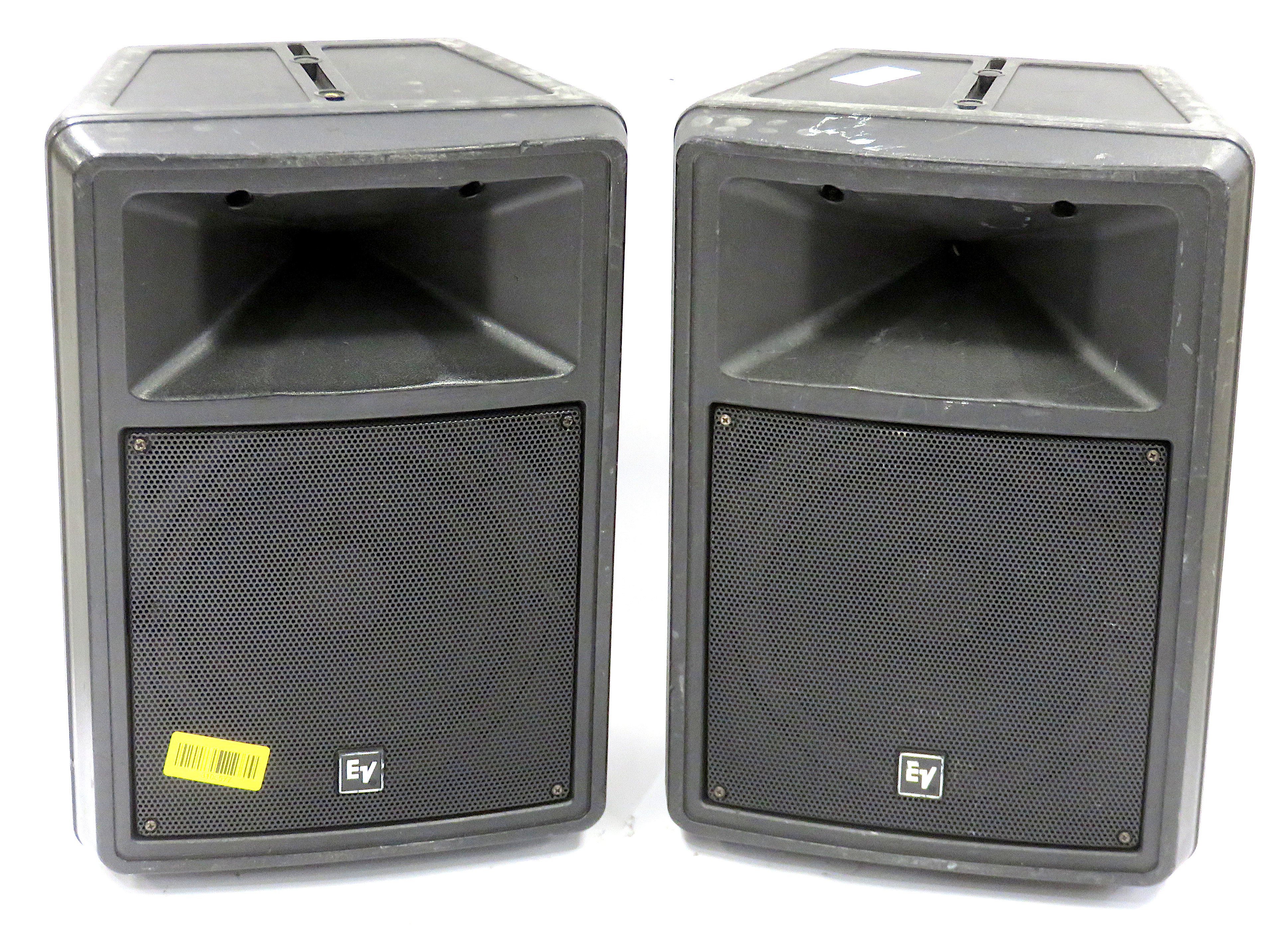 Pair of Electro-Voice Sx80 175W 8? Compact 2-Way Pro Loudspeakers w/ Stand Mount