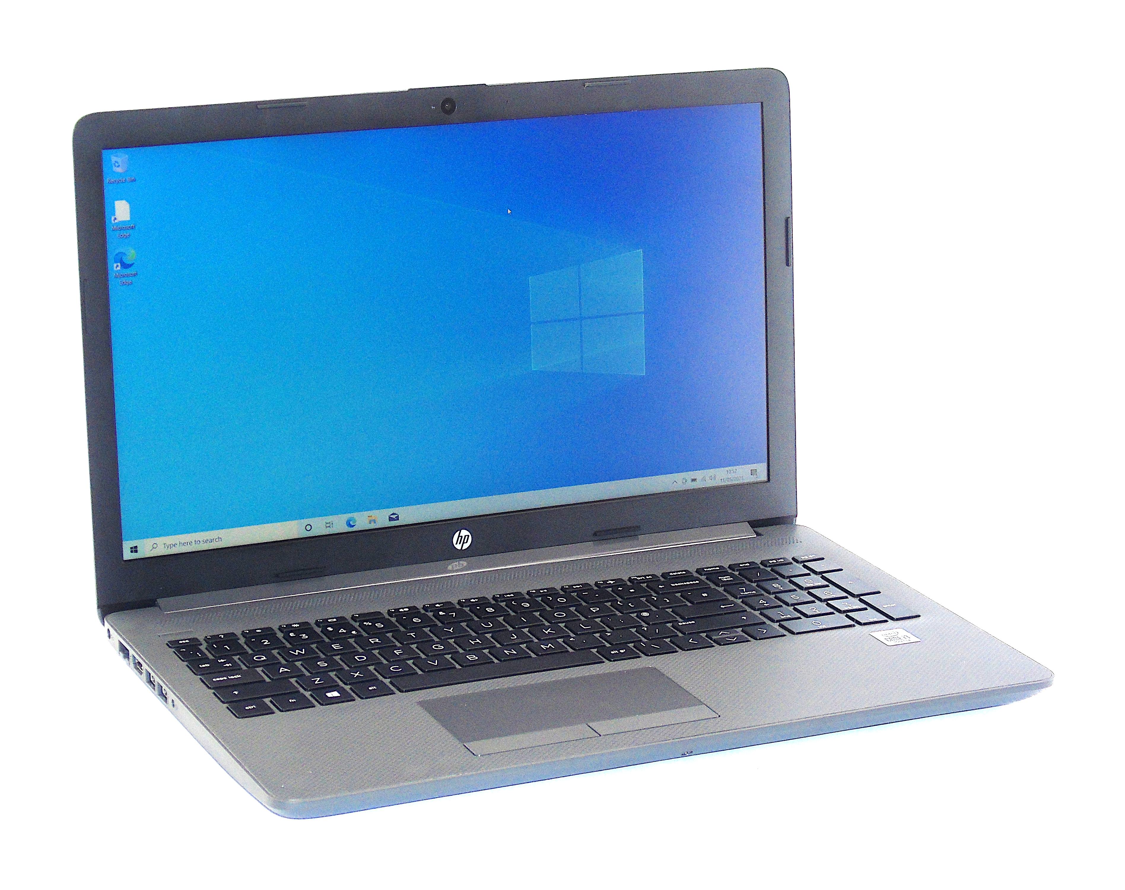 """HP 250 G7 Intel Core i3-1005G1 8GB RAM 256GB SSD 15.6"""" HD Display Win 10"""