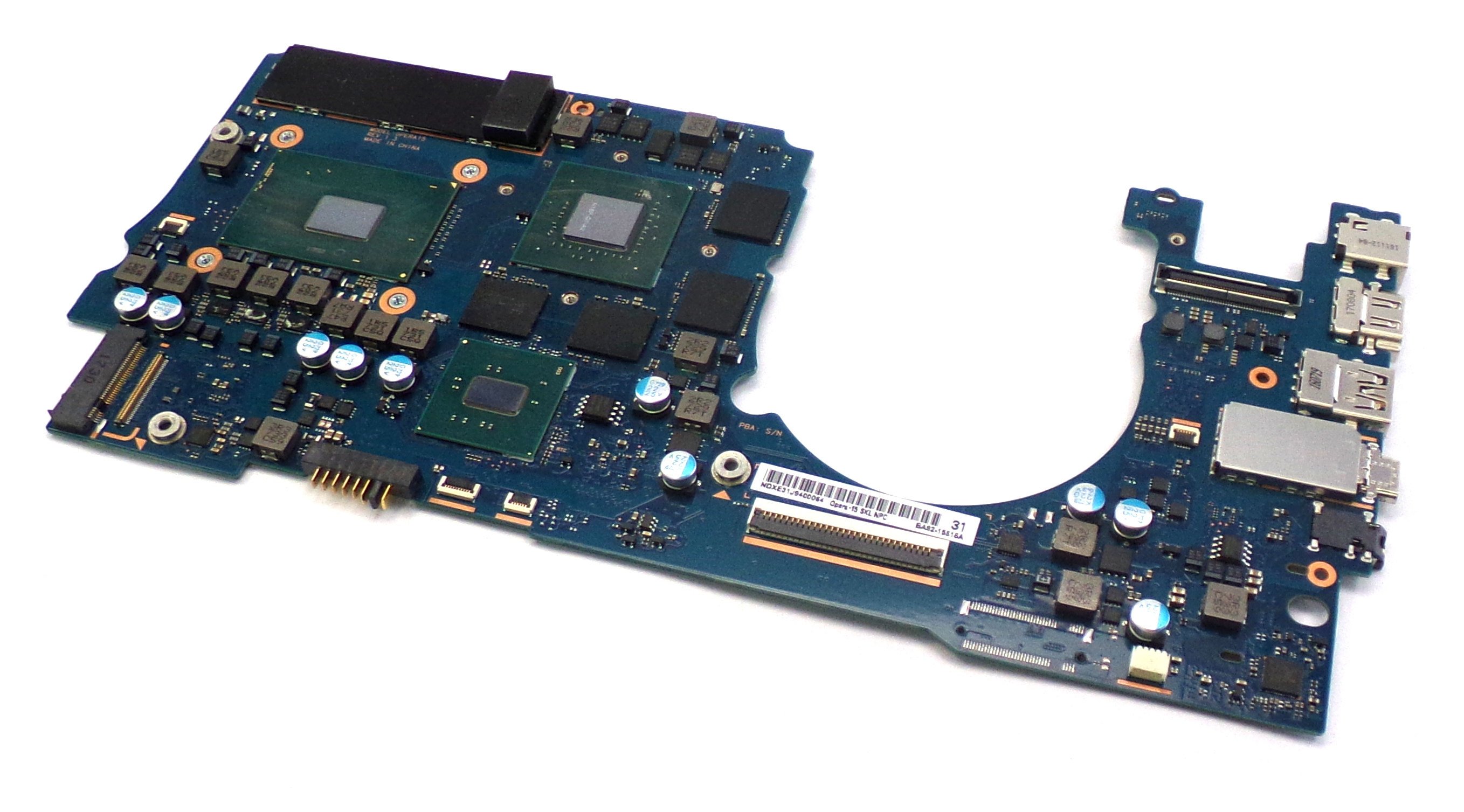 Samsung BA92-15818 NP940Z5L Laptop Motherboard with i7-6700HQ 2.6GHz CPU