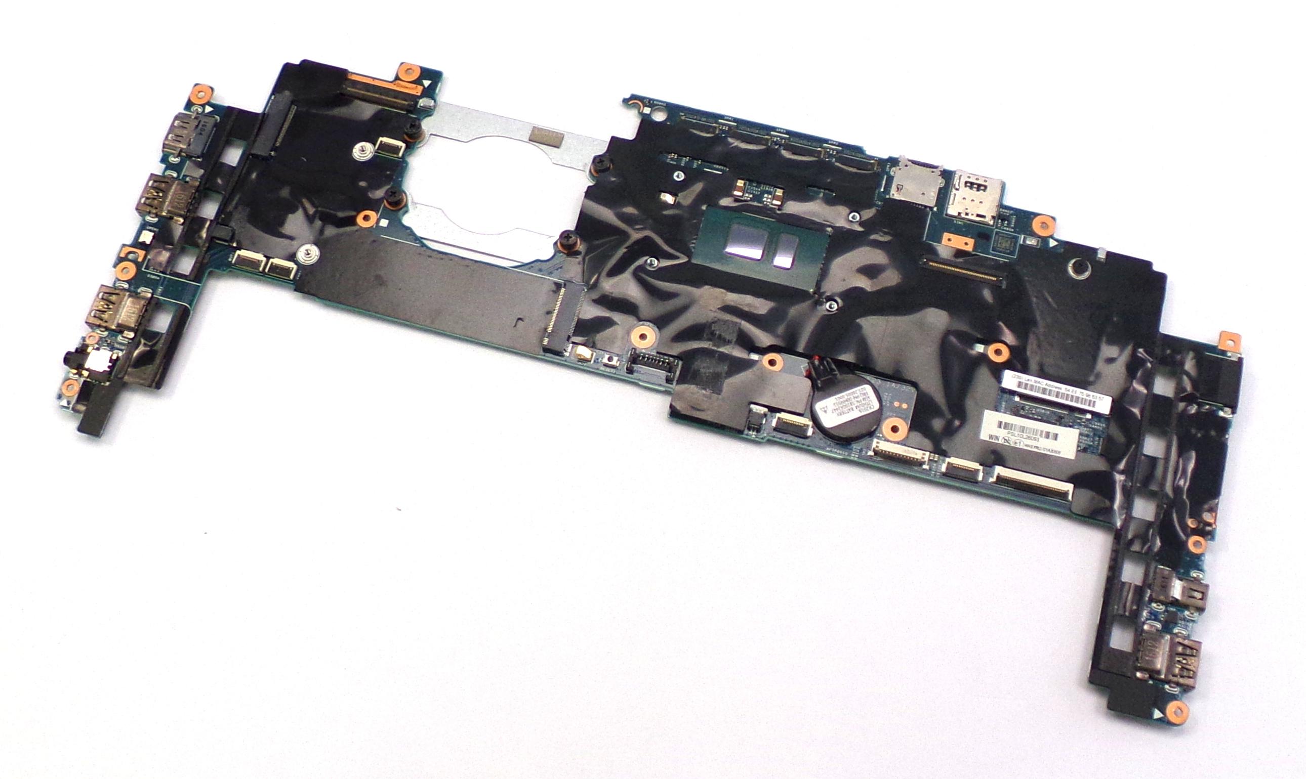 Lenovo 01AX808 ThinkPad X1 Carbon with Intel i7-6600U 2.6GHz Laptop Motherboard