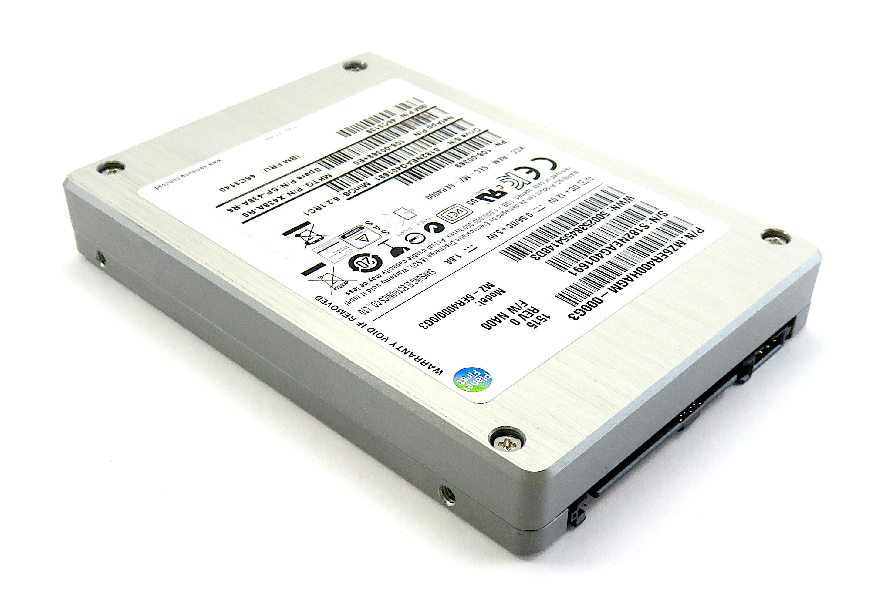 "Samsung 400Gb SSD 2.5"" SAS 6Gbps - MZ6ER400HAGM-000G3 - MZ-6ER4000/0G3"