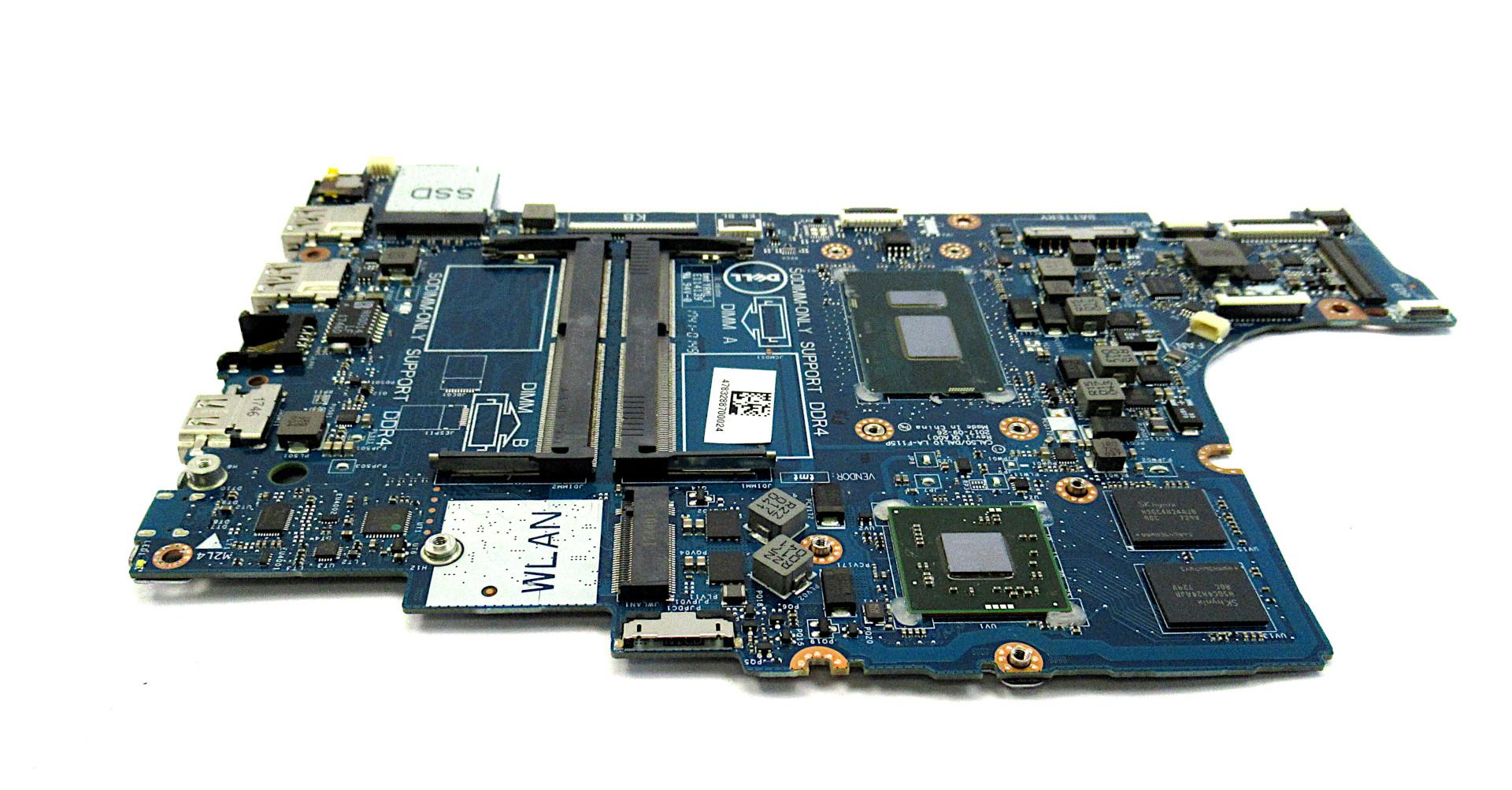 JPMY7 Dell Inspiron 15 5570 Laptop motherboard /w BGA Core i5-8250U CPU