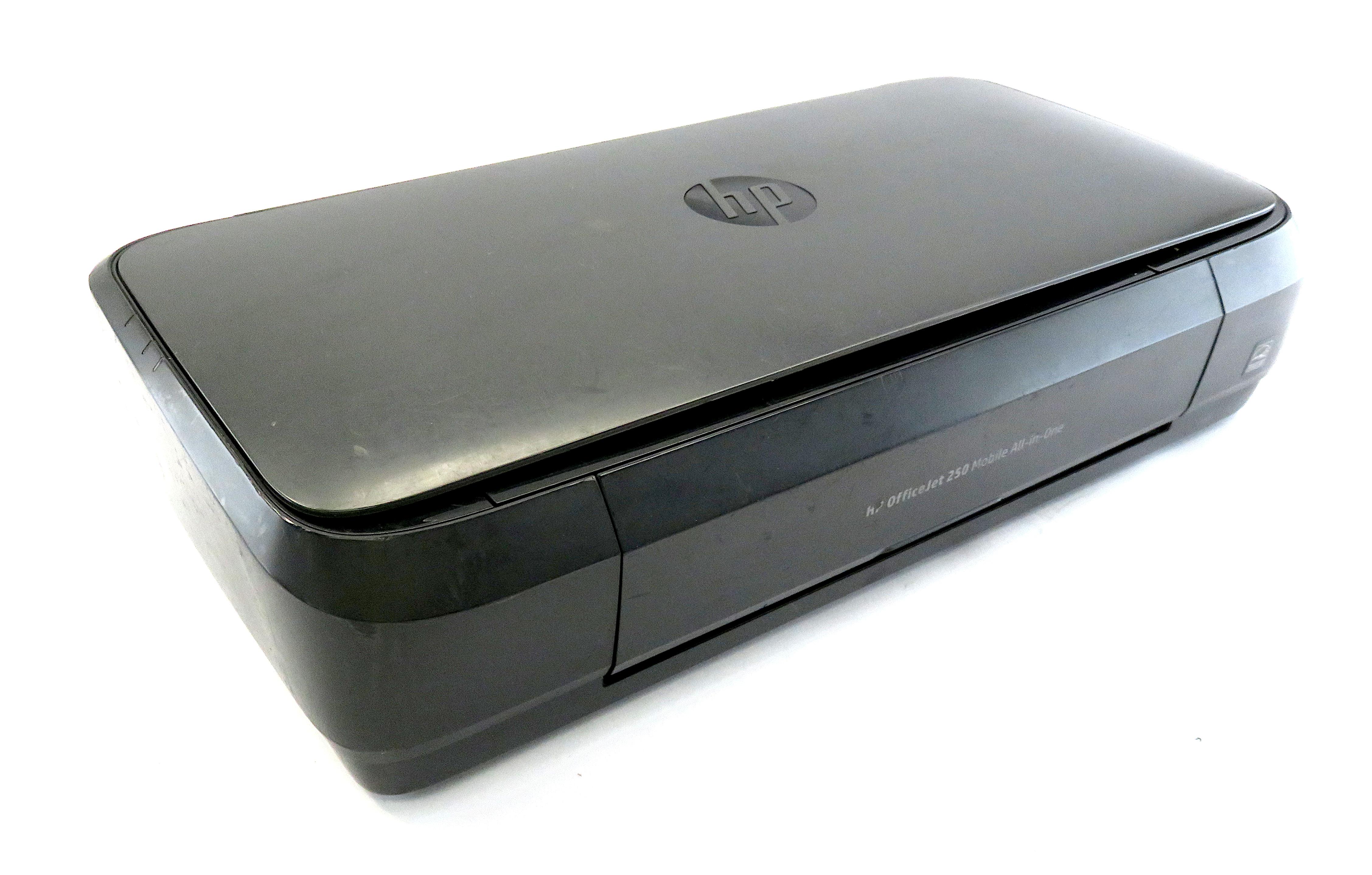 HP OfficeJet 250 Mobile All-in-One Portable Inkjet Printer - CZ992-64001