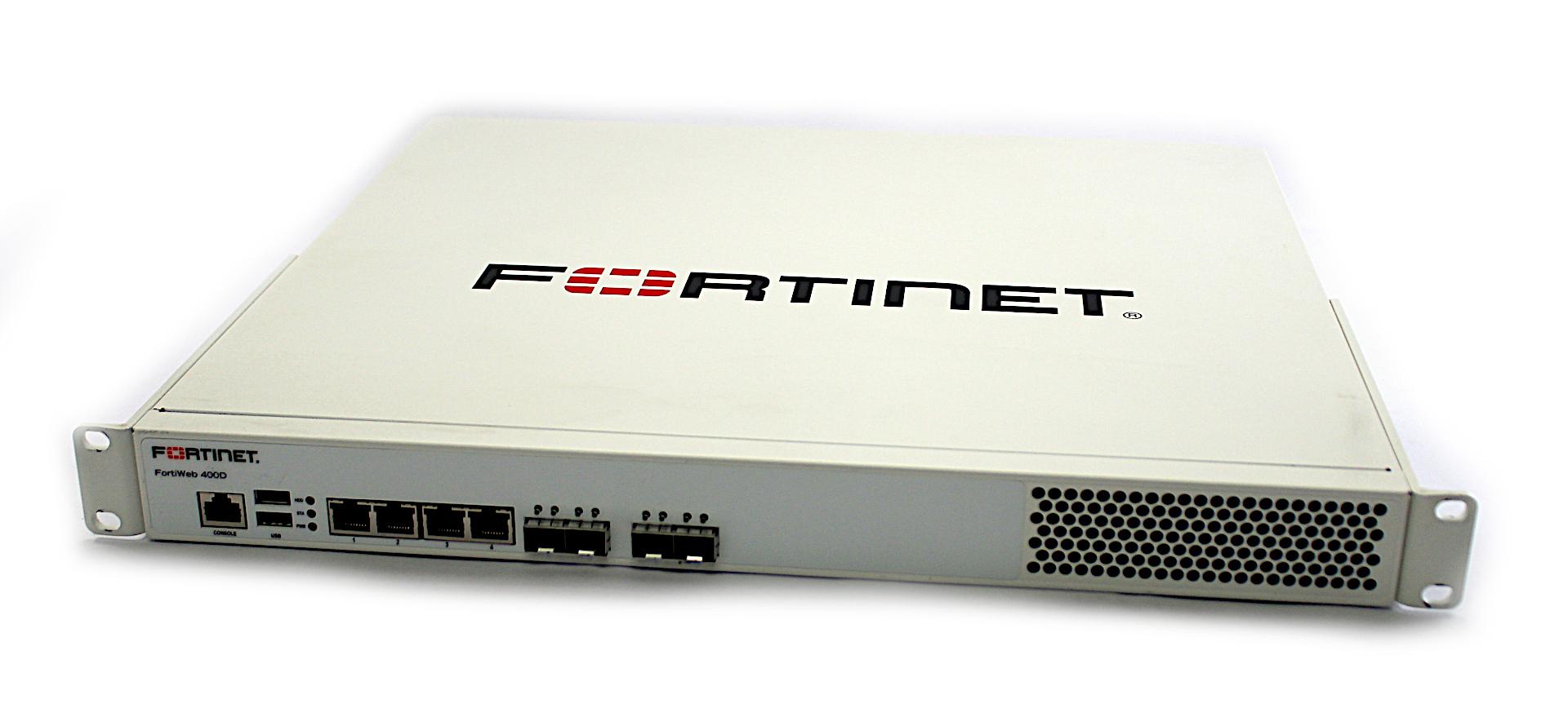 Fortinet FWB-400D Web Application Hardware Firewall Fortiweb-400D - P17285-01-02