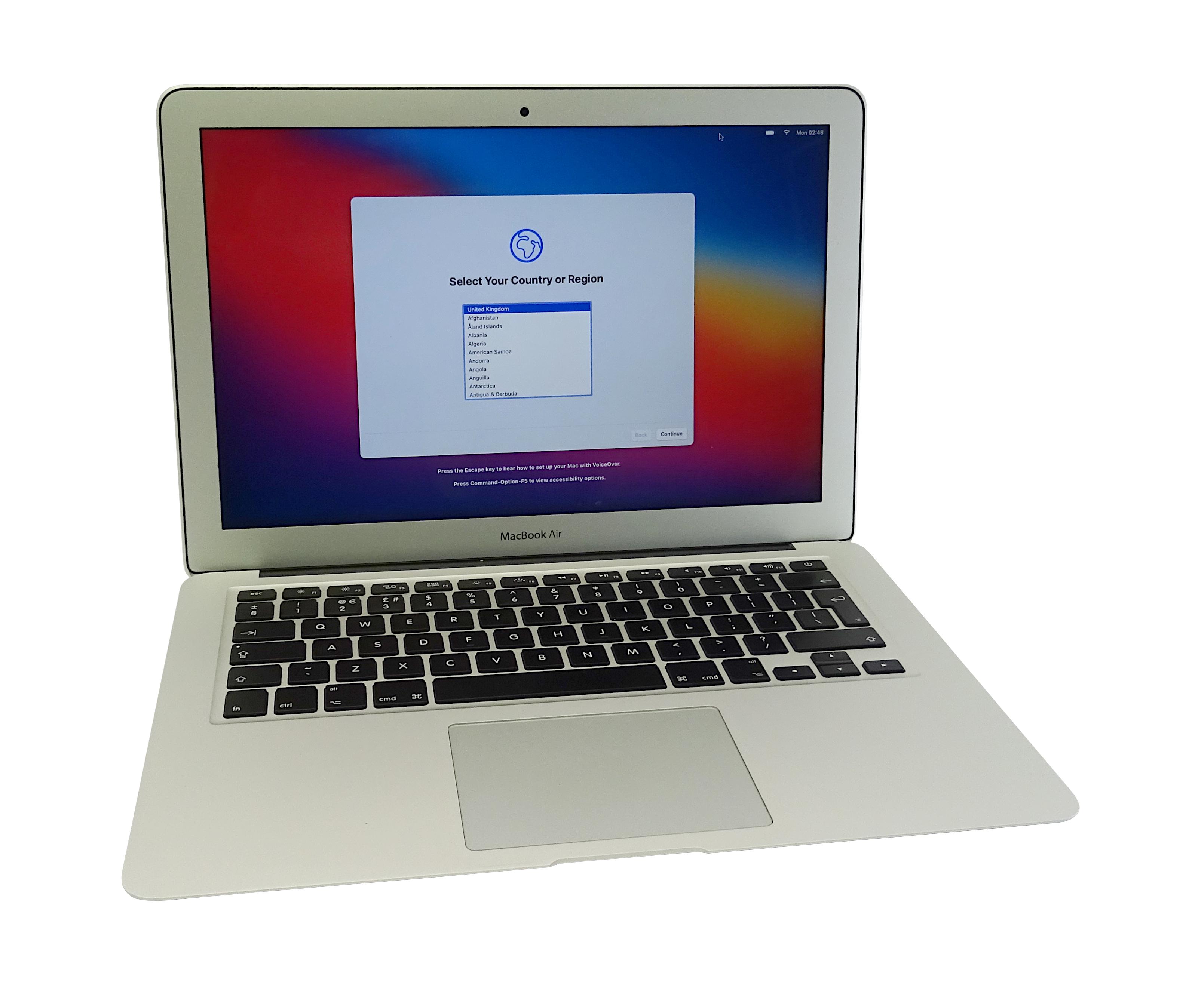 """Apple MacBook Air 13"""" A1466 2017 Core i5 1.8GHz 8GB 128GB SN:FVFTK23KJ1WK"""