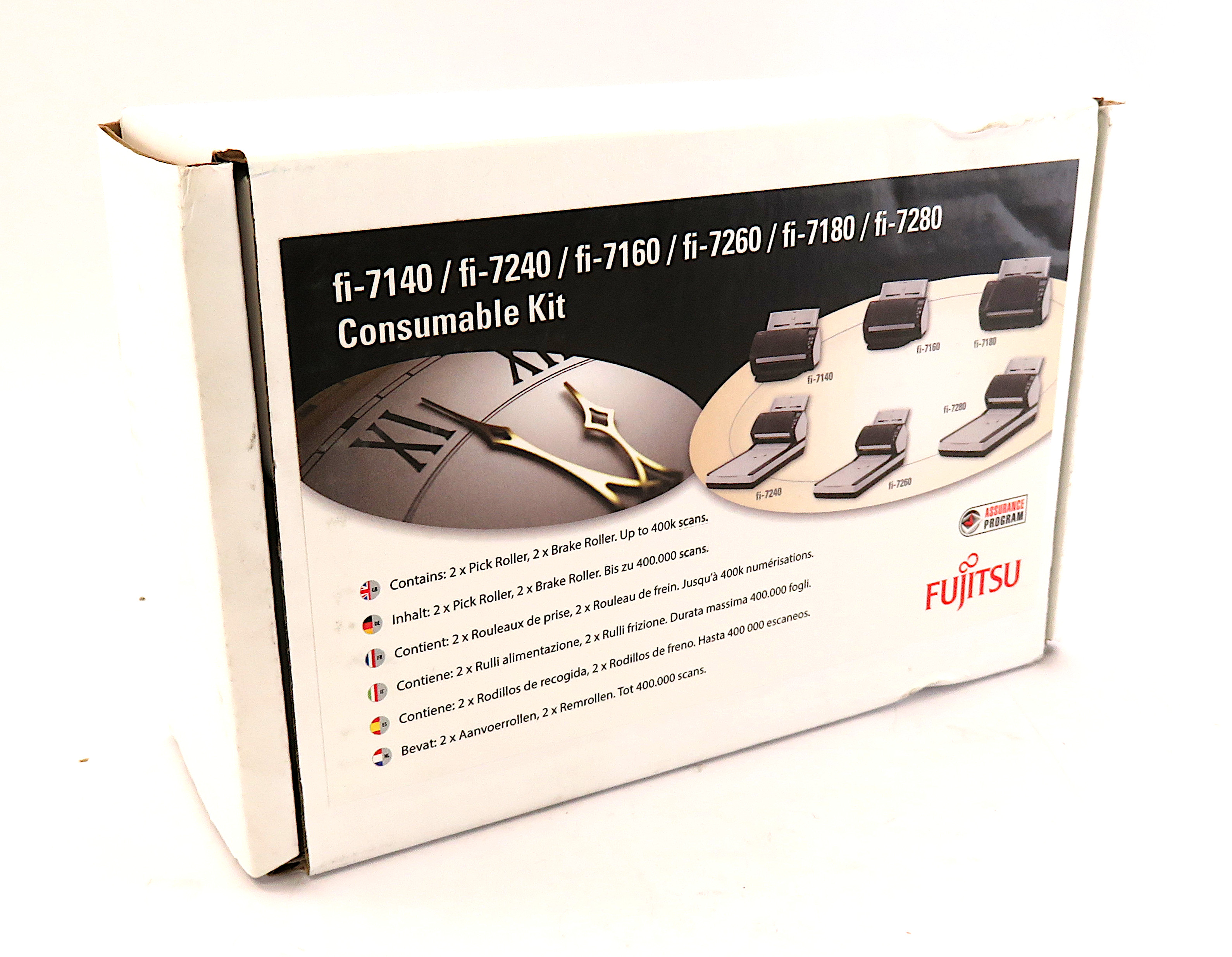 Fujitsu CON-3670-002A Consumable Kit for fi-7140/fi-7160/fi-7260/fi-7180/fi-7280