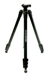 Hama Delta Pro 180 3D Tripod with Carry Bag and Delkin Devices Camera Mount
