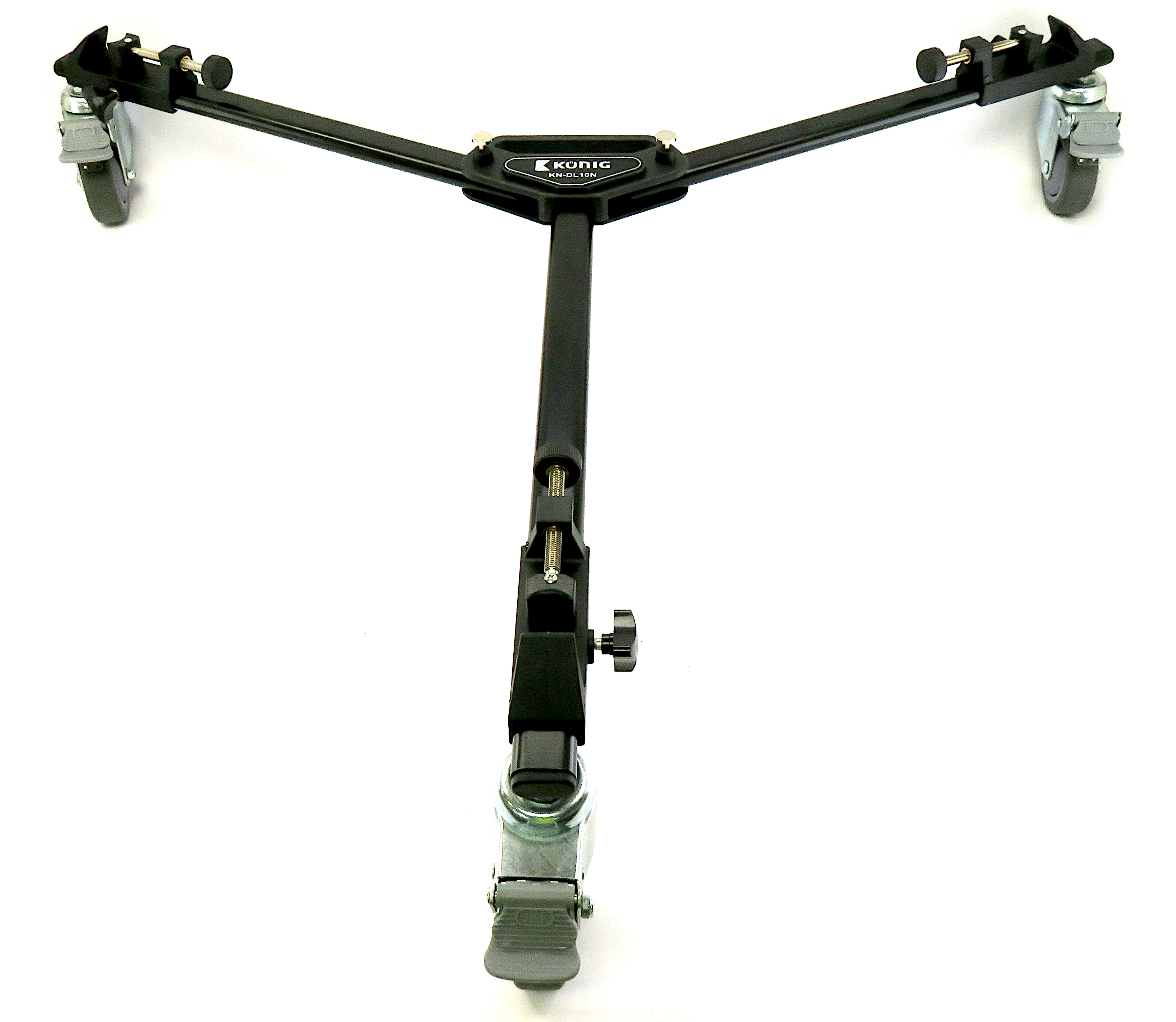 König KN-DL10N Wheeled Dolly for Camera Tripod with Carry Case