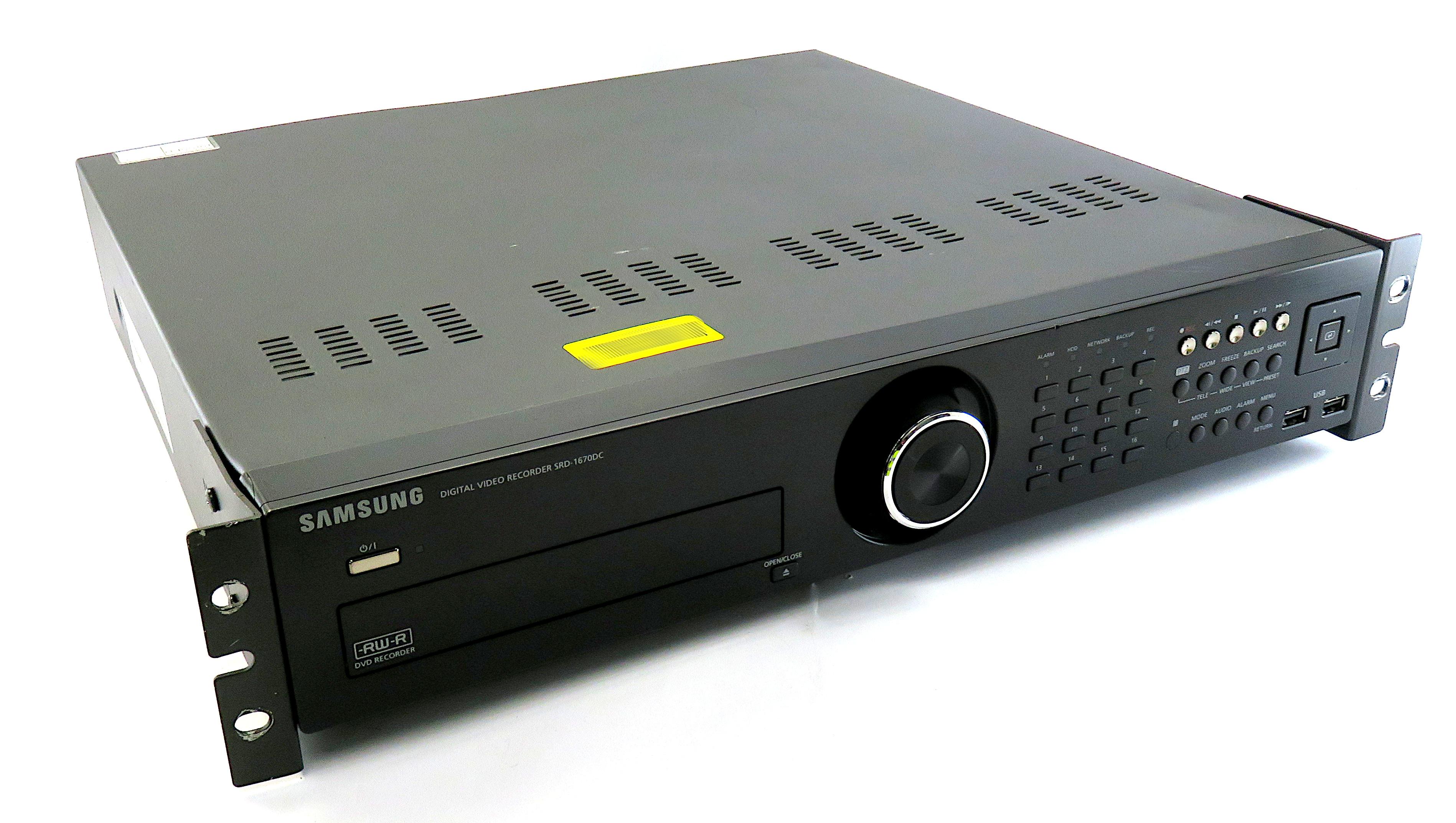 Samsung SRD-1670DCP 16 Channel Digital Video Recorder CCTV H.264 - NO HDD