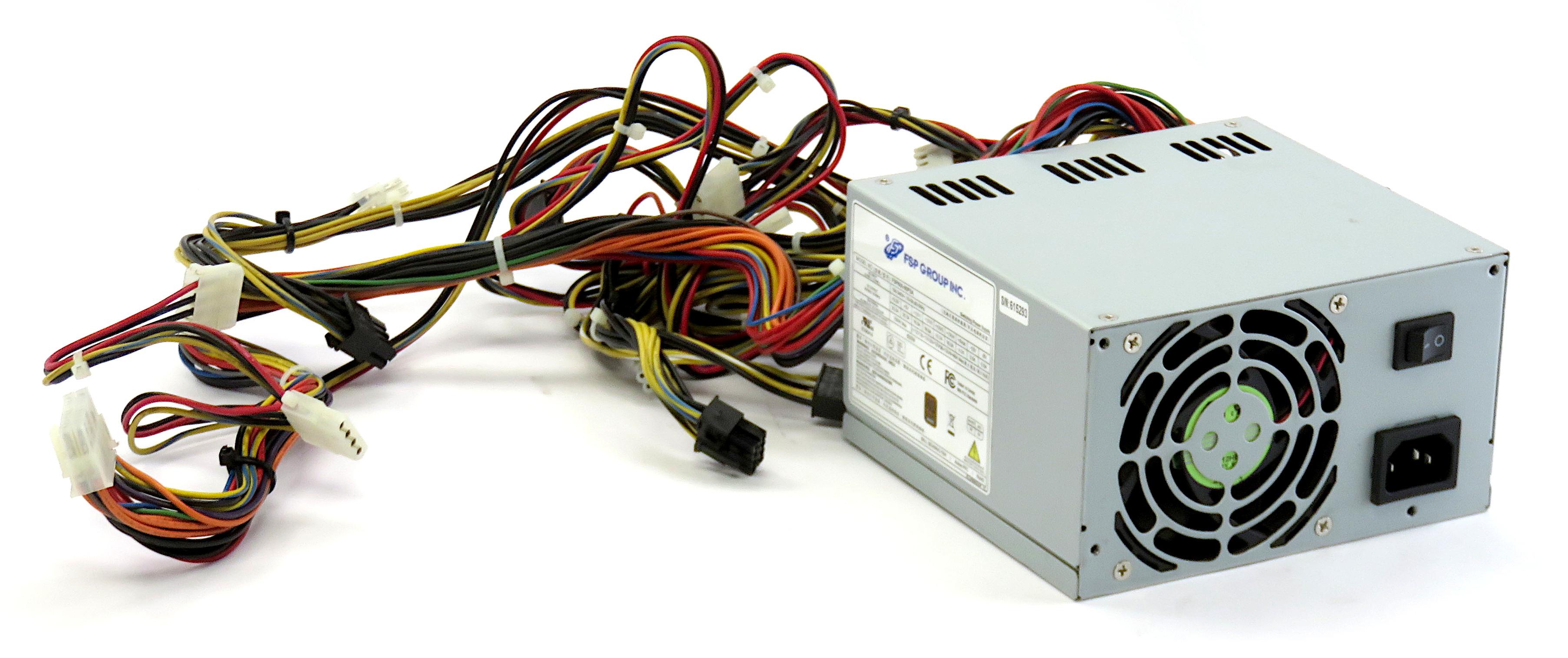 FSP Group FS600-80PSA 80+ Bronze 600W 20/24-Pin ATX Power Supply 9PA6002221