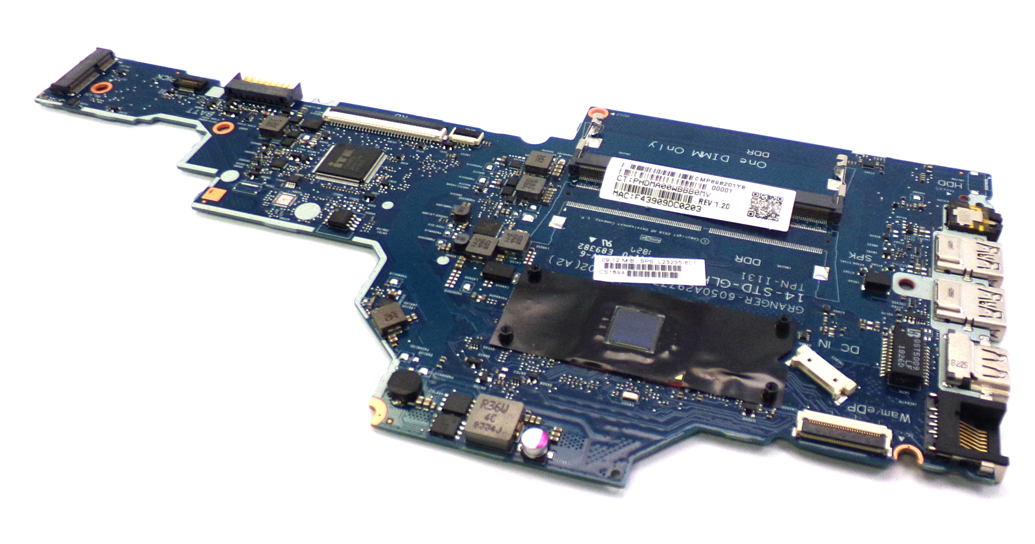 HP L23235-601 Notebook 14-DG0521SA with N4000 Laptop Motherboard