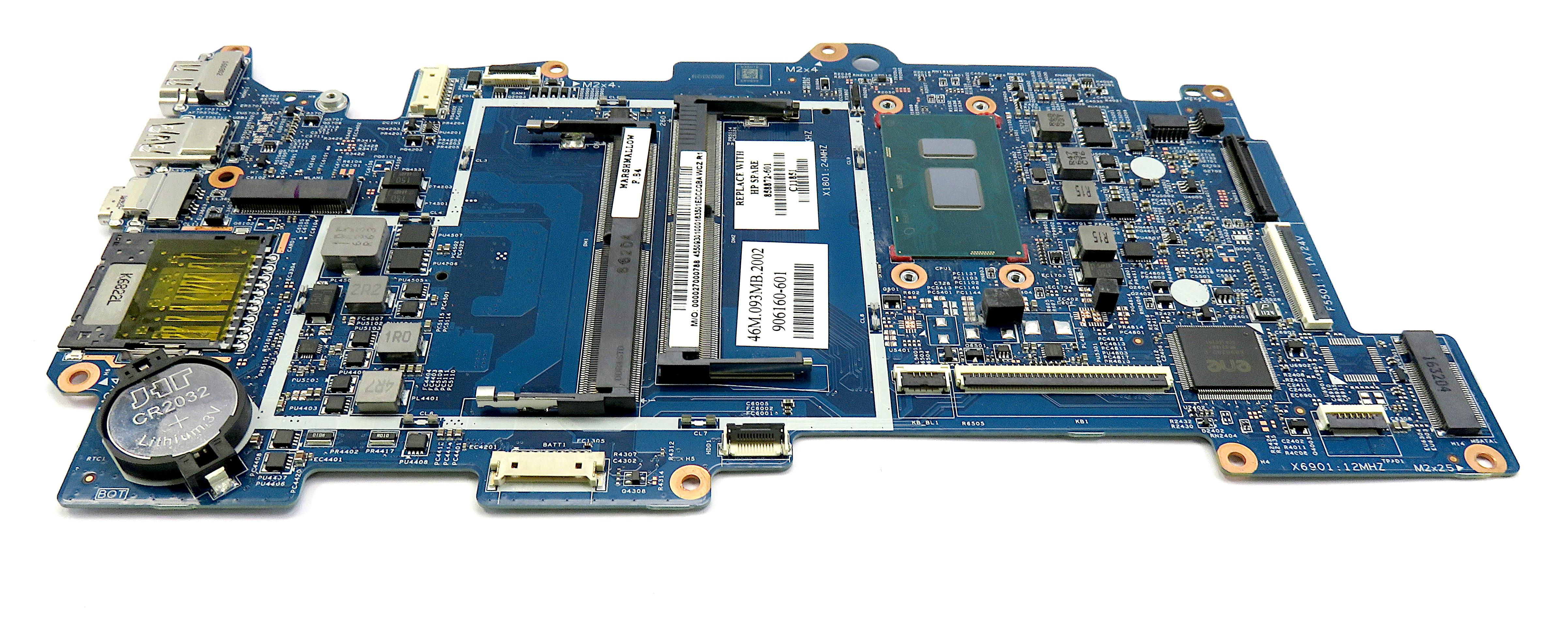 HP ENVY x360 M6-AQ Laptop Motherboard w/ Intel i5-7200U 2.5Ghz CPU - 858872-601