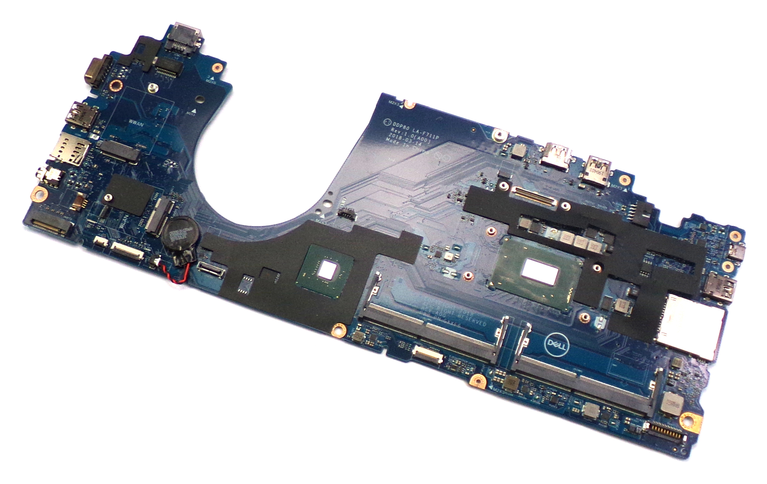 Dell 31PG4 Latitude 5591 with Intel i5-8400H 2.5GHz Laptop Motherboard