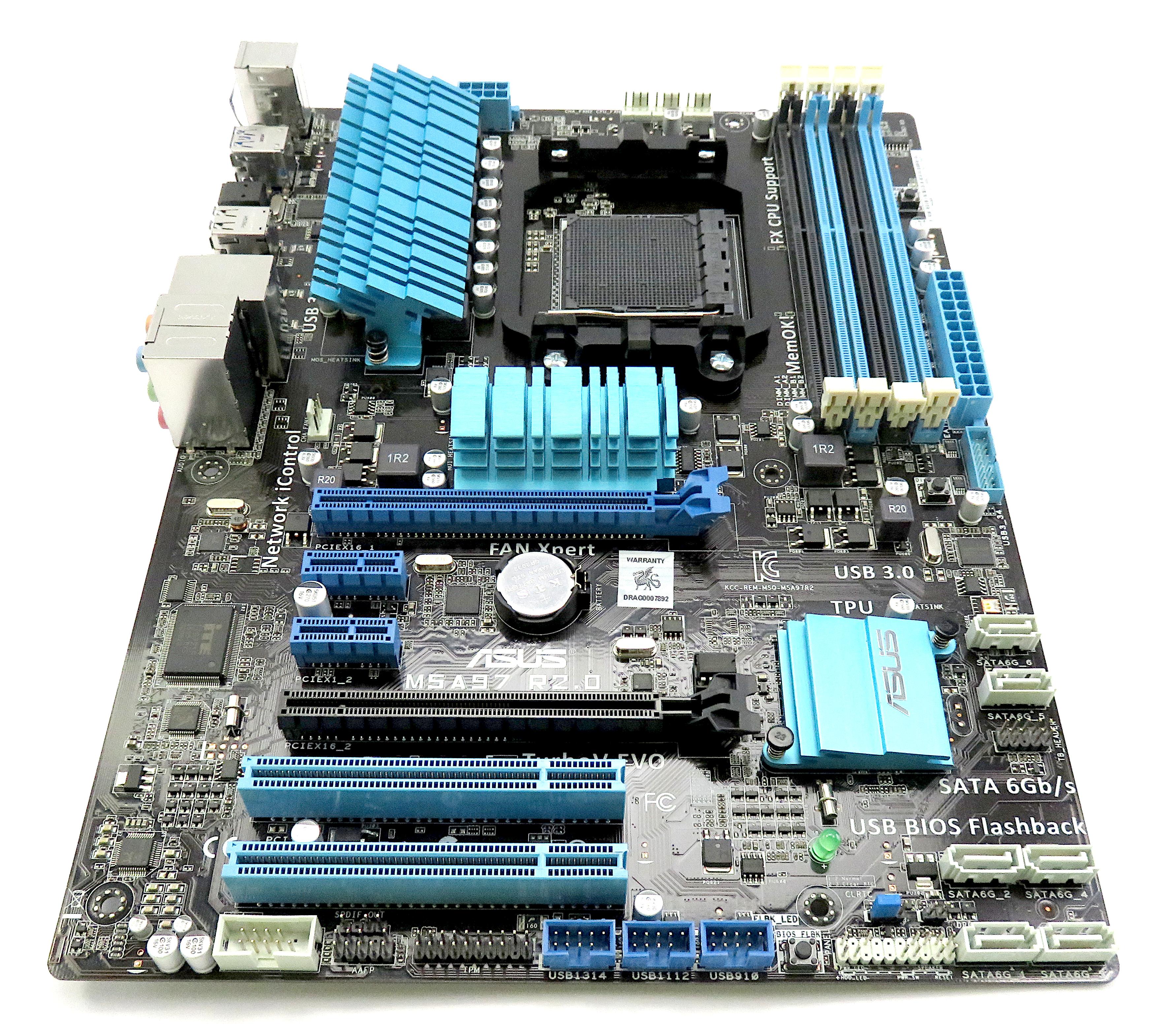 Asus M5A97 R2.0 TurboV Evo AMD Socket AM3+ FX Support Motherboard
