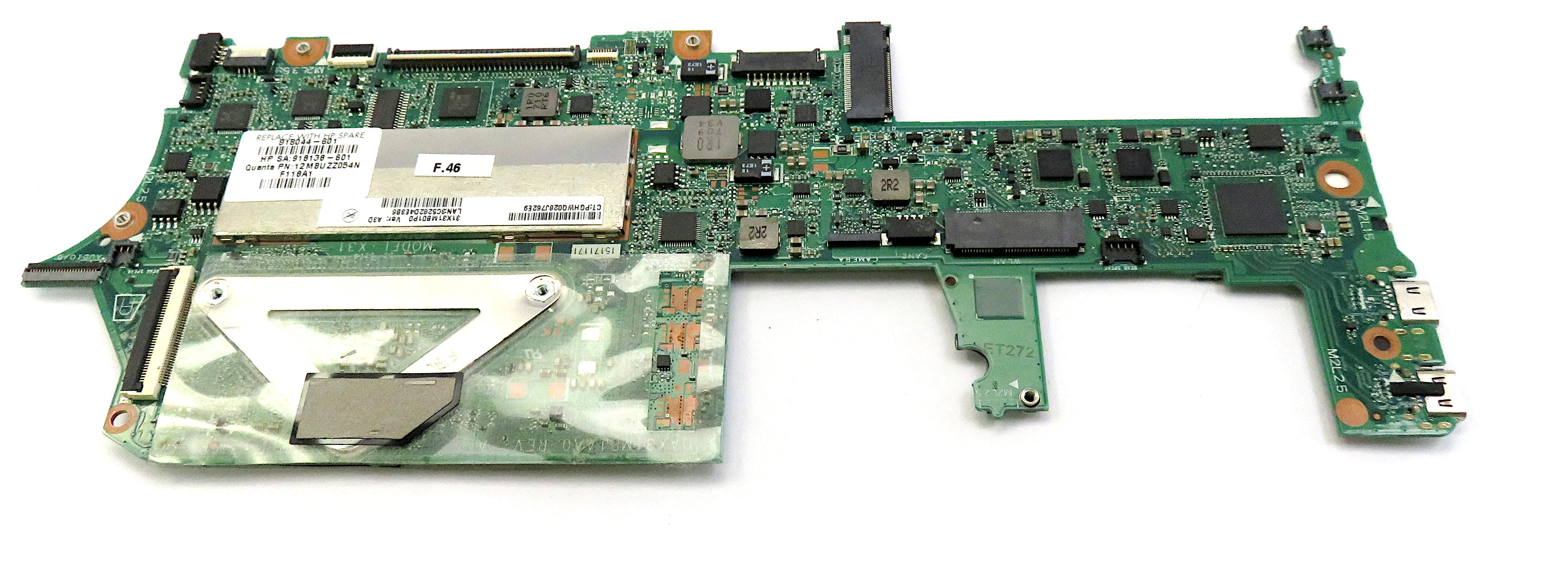 HP 918044-601 Spectre x360 - Motherboard UMA i5-7200U 8GB WIN