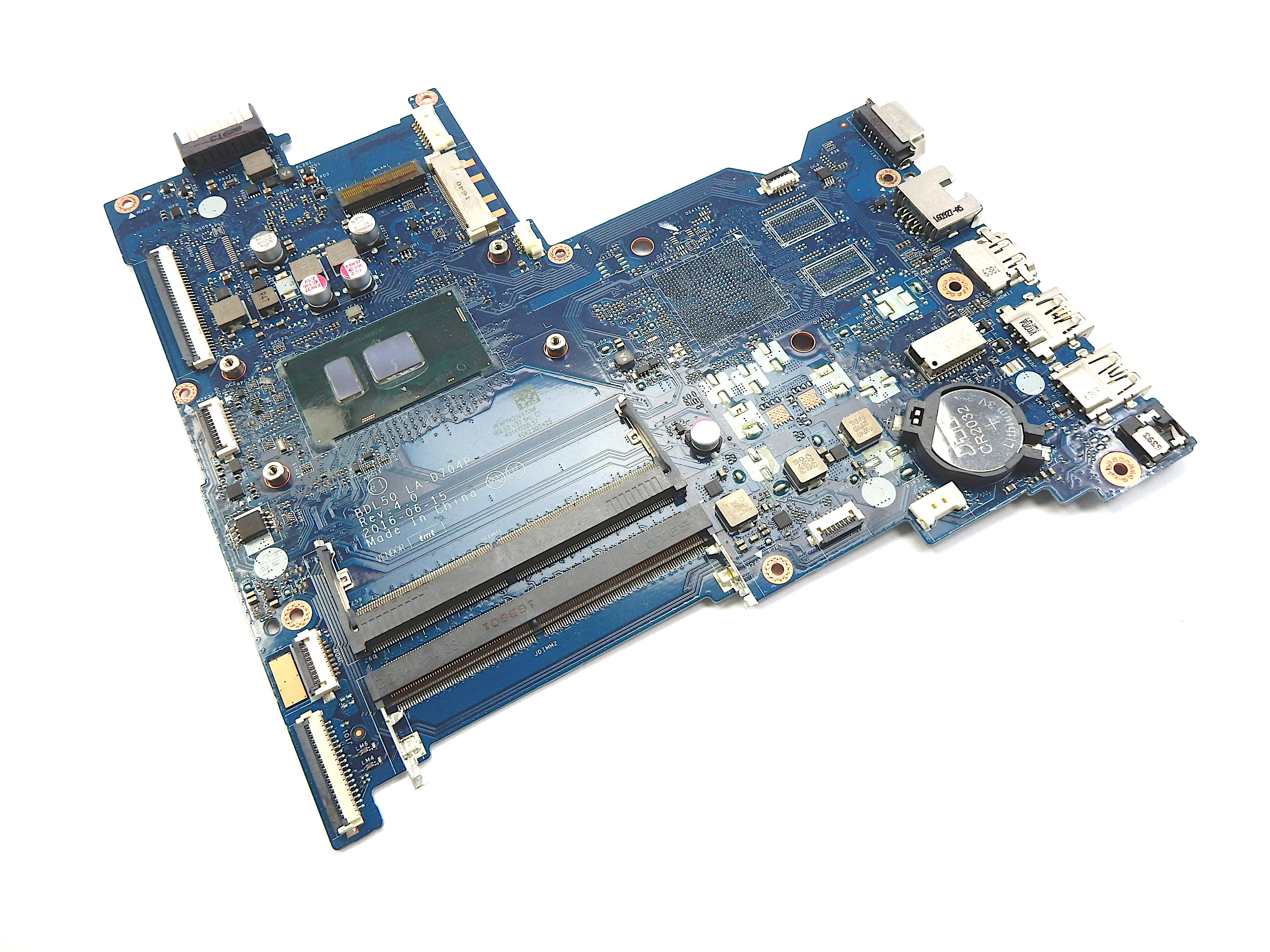 HP 15-AY BDL50 LA-D704P with Intel Core i5-6200U Laptop Motherboard