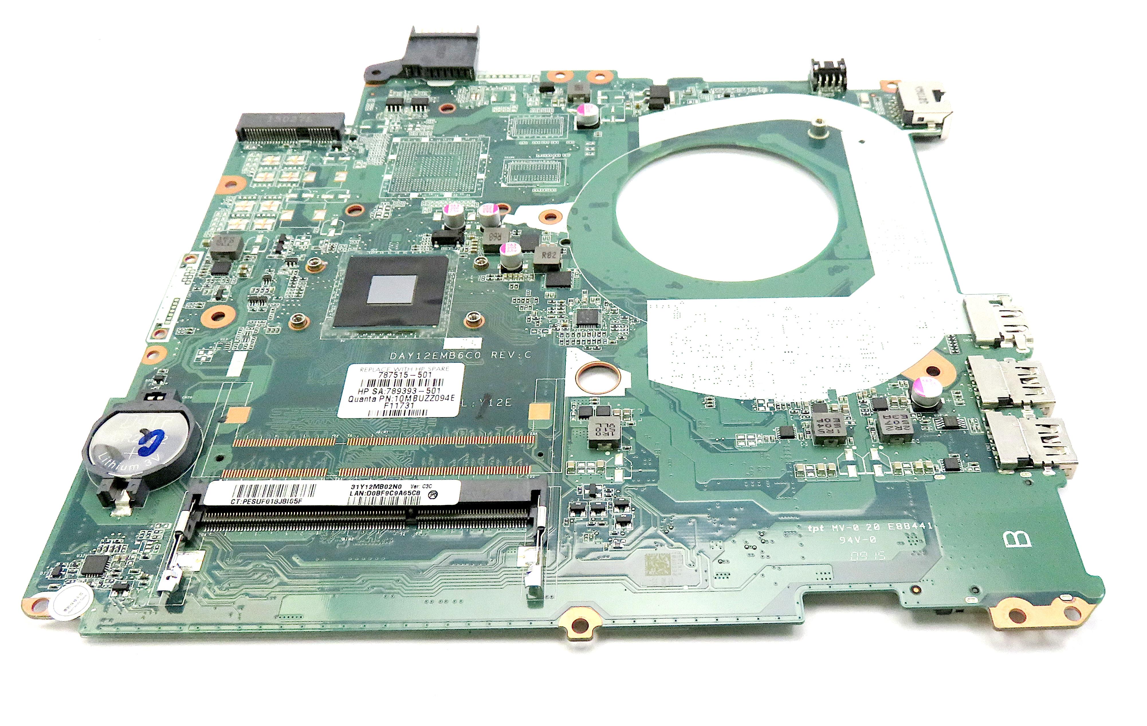 HP Pavilion 15-P 787515-501 Motherboard w/ Intel Pentium N3540