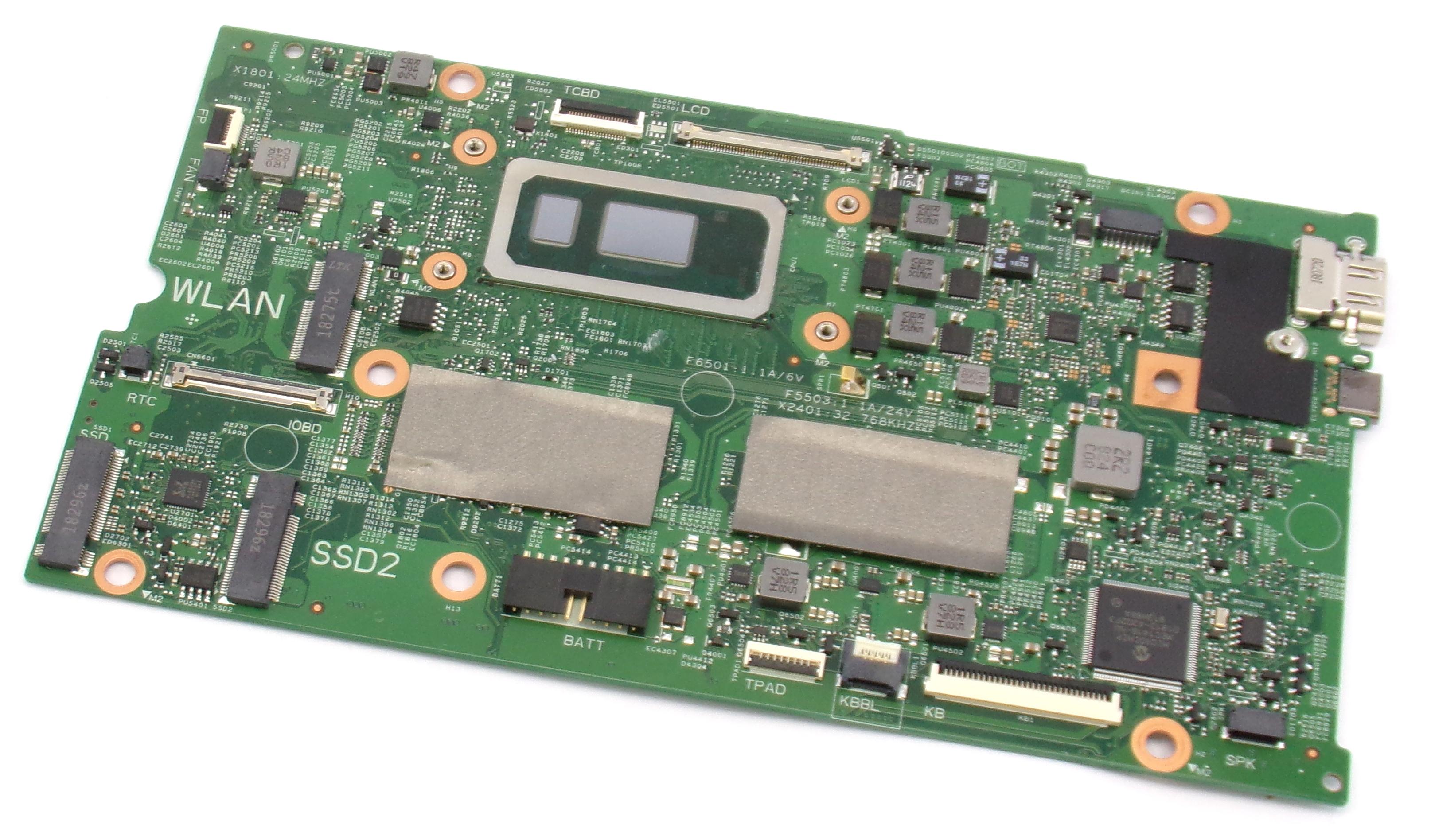 Dell Inspiron 13 7386 - V86CW - w/ Intel Core i7-8565U Laptop Motherboard
