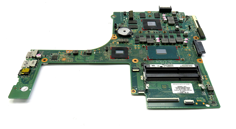 HP Pavilion 15-AK 832847-601 Laptop Motherboard w/ i5-6300HQ, NVidia 950M GPU